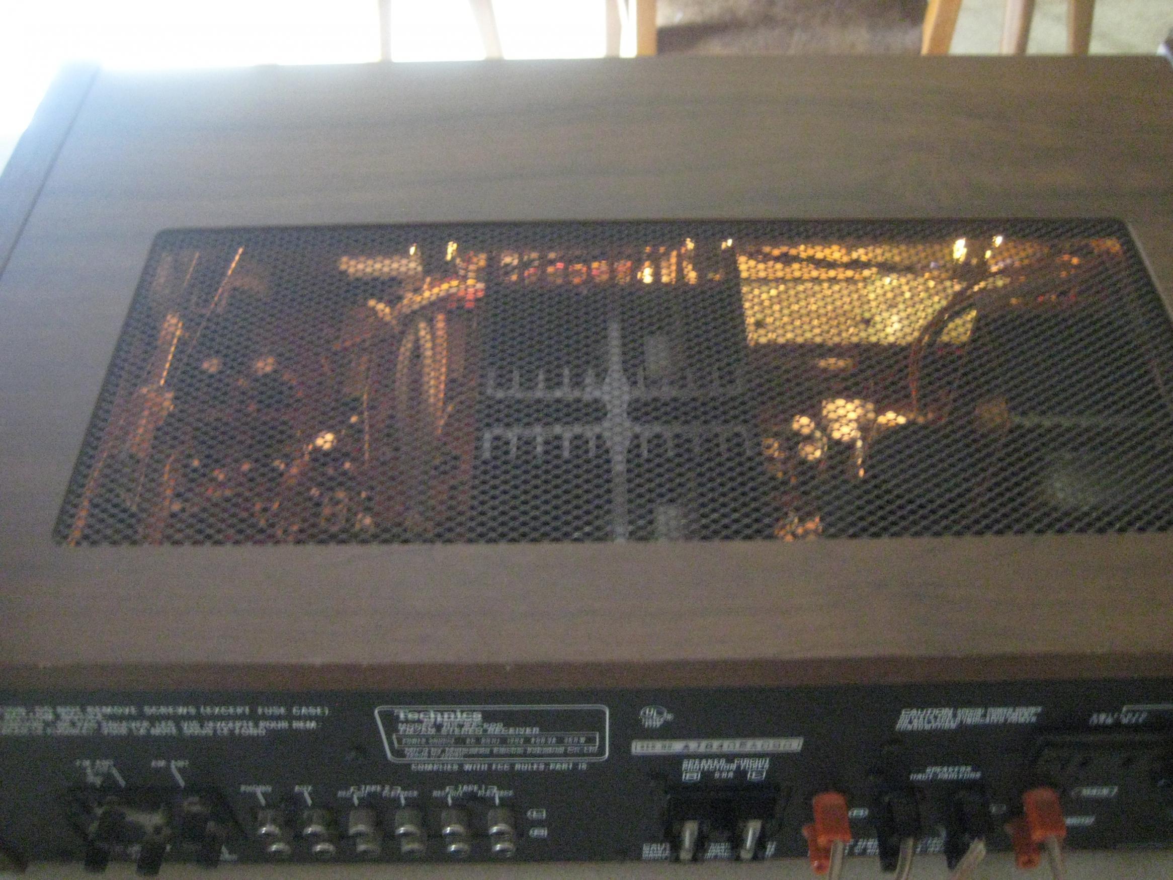 Very Nice Technics Sa 600 70w Ch Am Fm Receiver 1978 79 Polk Audio Amplifier 016 5219k