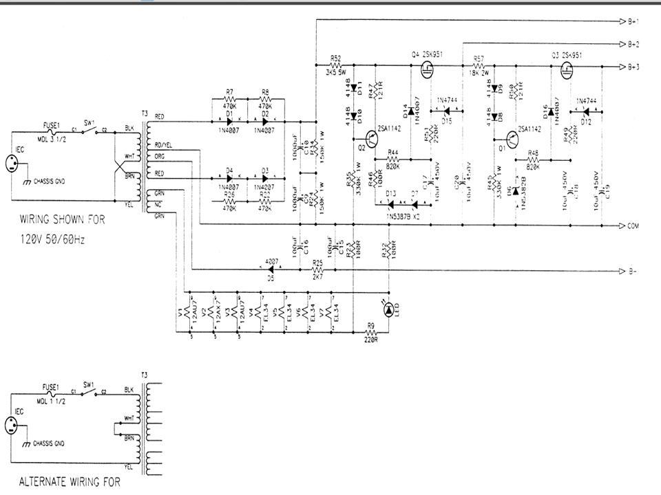does anybody have a schematic for an anthem amp 1 polk audio rh forum polkaudio com Tube Amp Schematics Vintage Amplifier Schematics