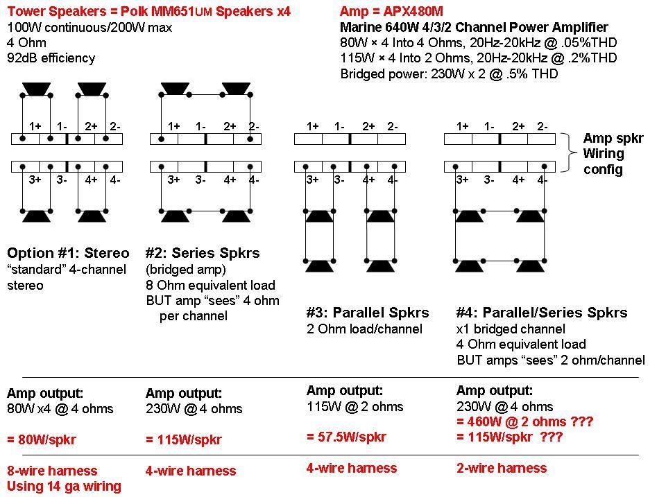 help please boat tower speaker wiring polk audio rh forum polkaudio com Polk Audio PA880 Amp Polk Audio Speakers