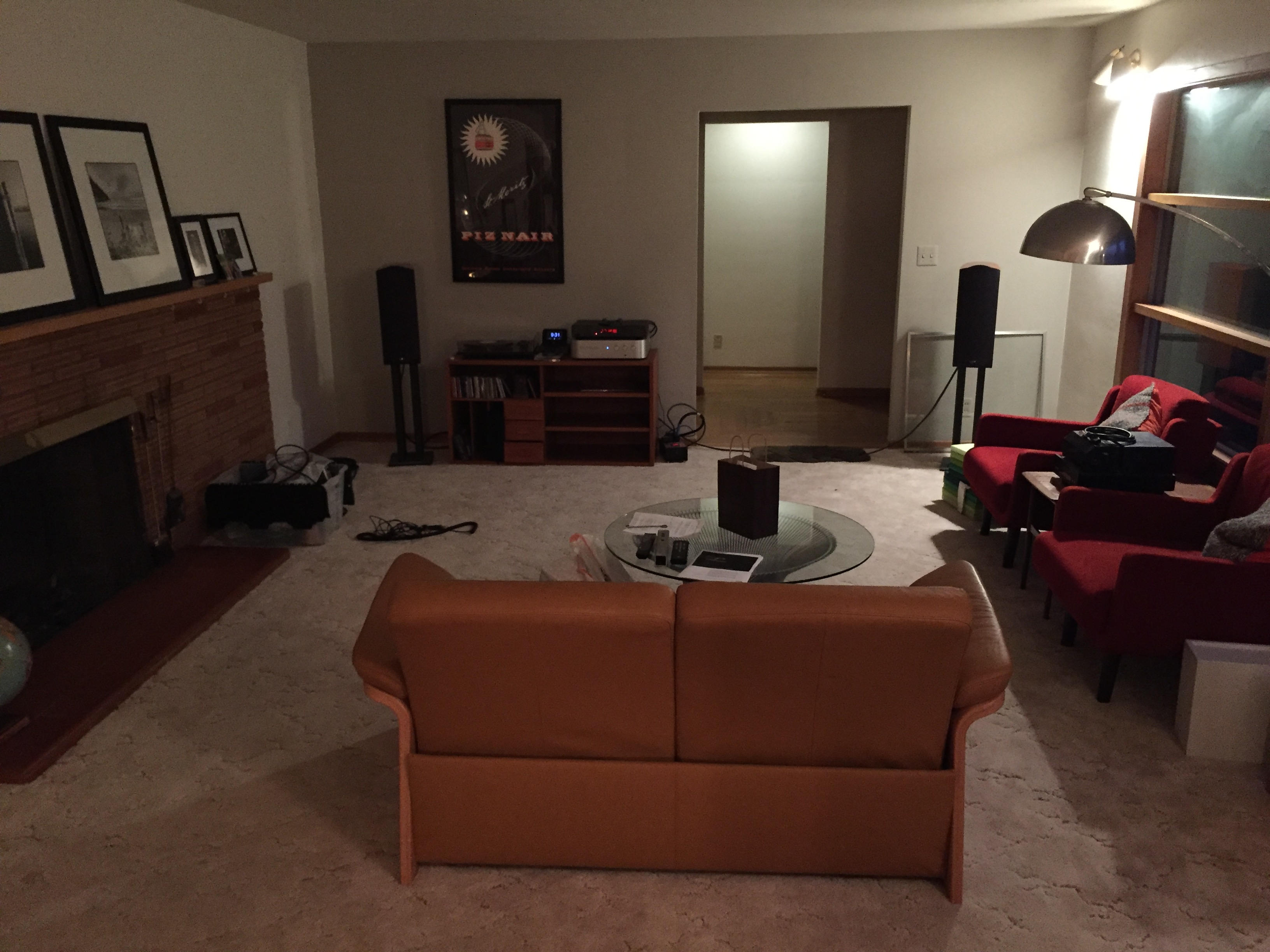 speaker location - front ported speakers - wall distance — Polk Audio
