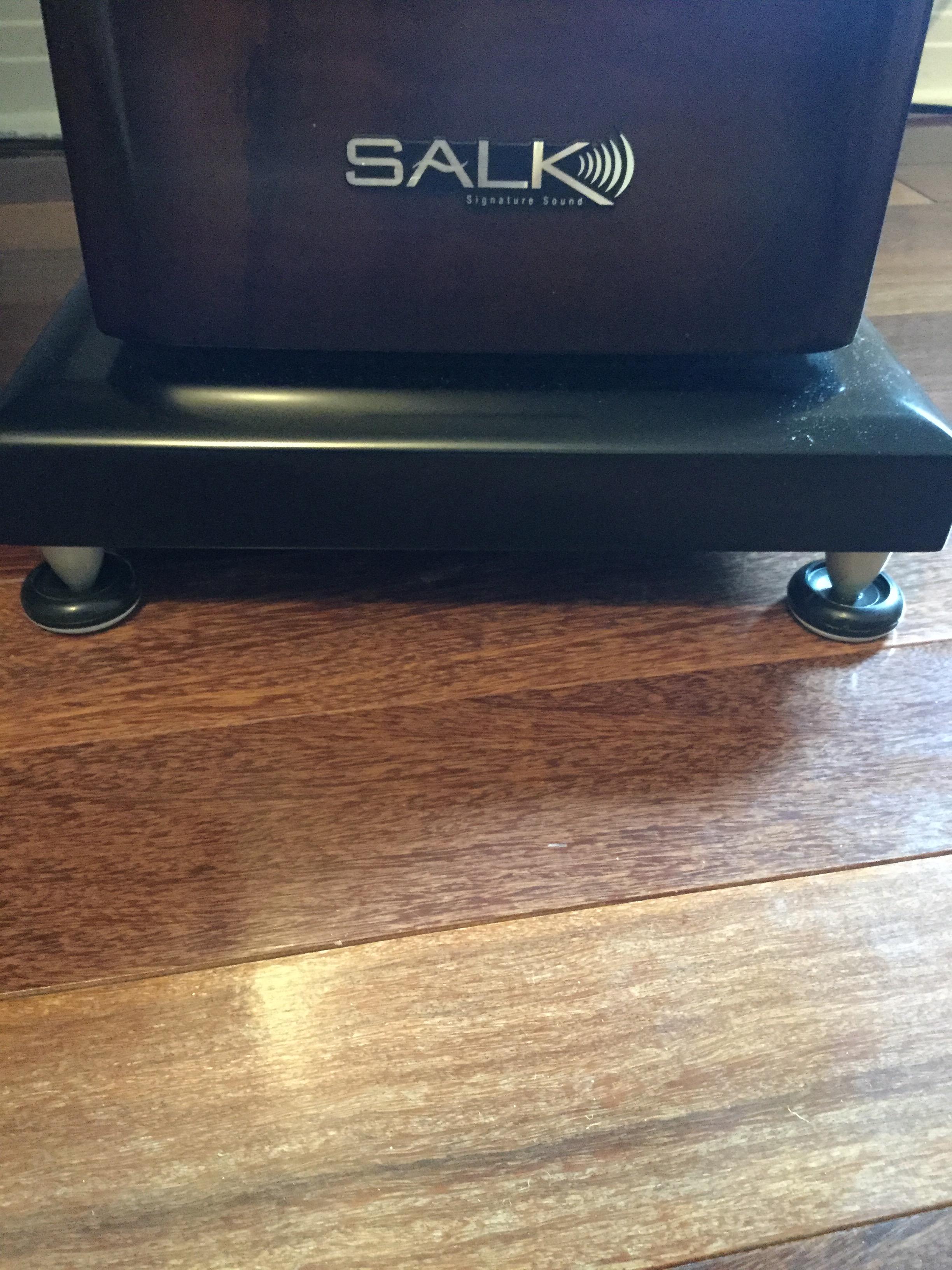 DIY Speaker spike sliders for hardwwod floors ..... — Polk ...