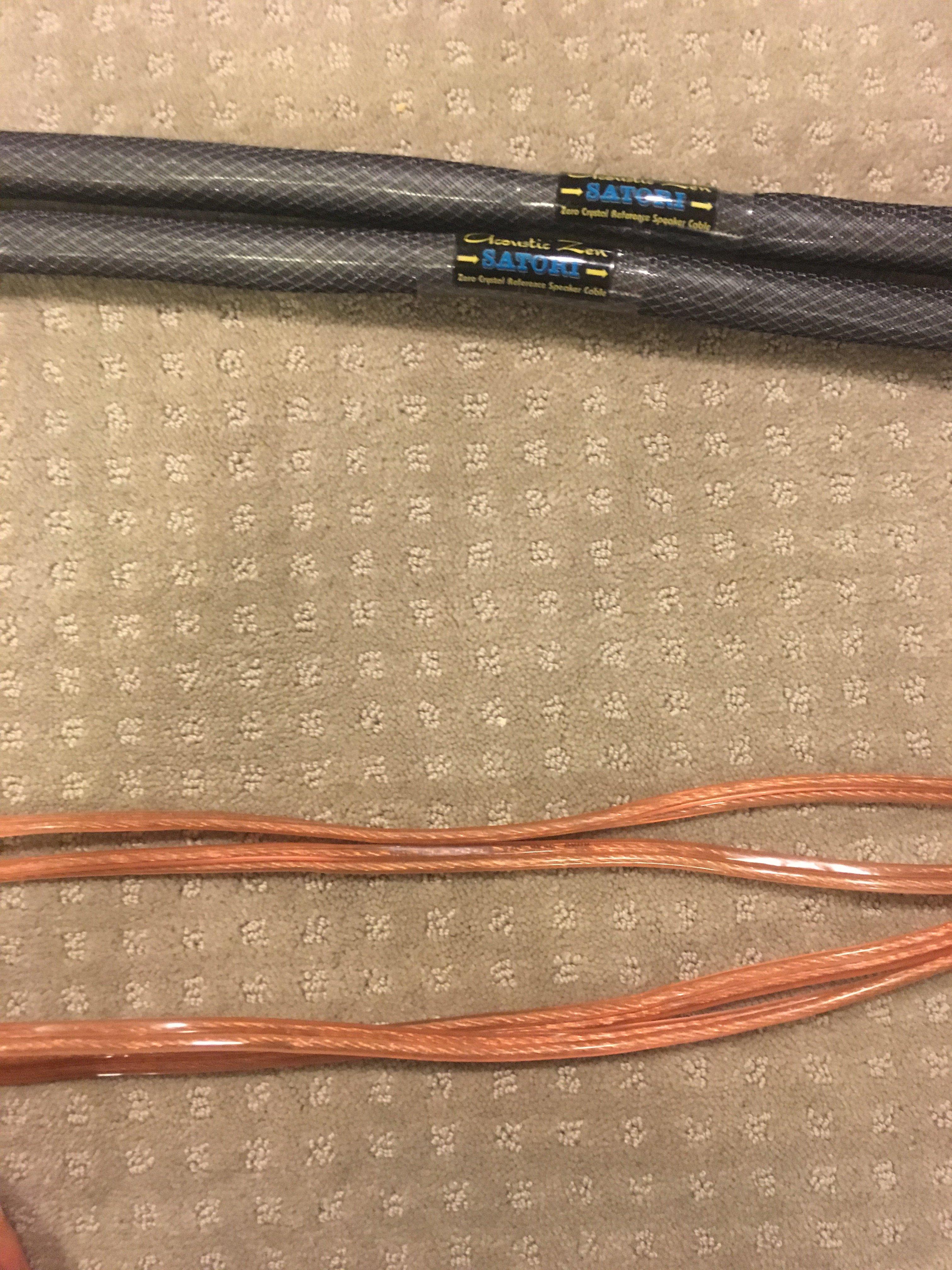 My personal experience: Acoustic Zen Sartori speaker wires — Polk ...