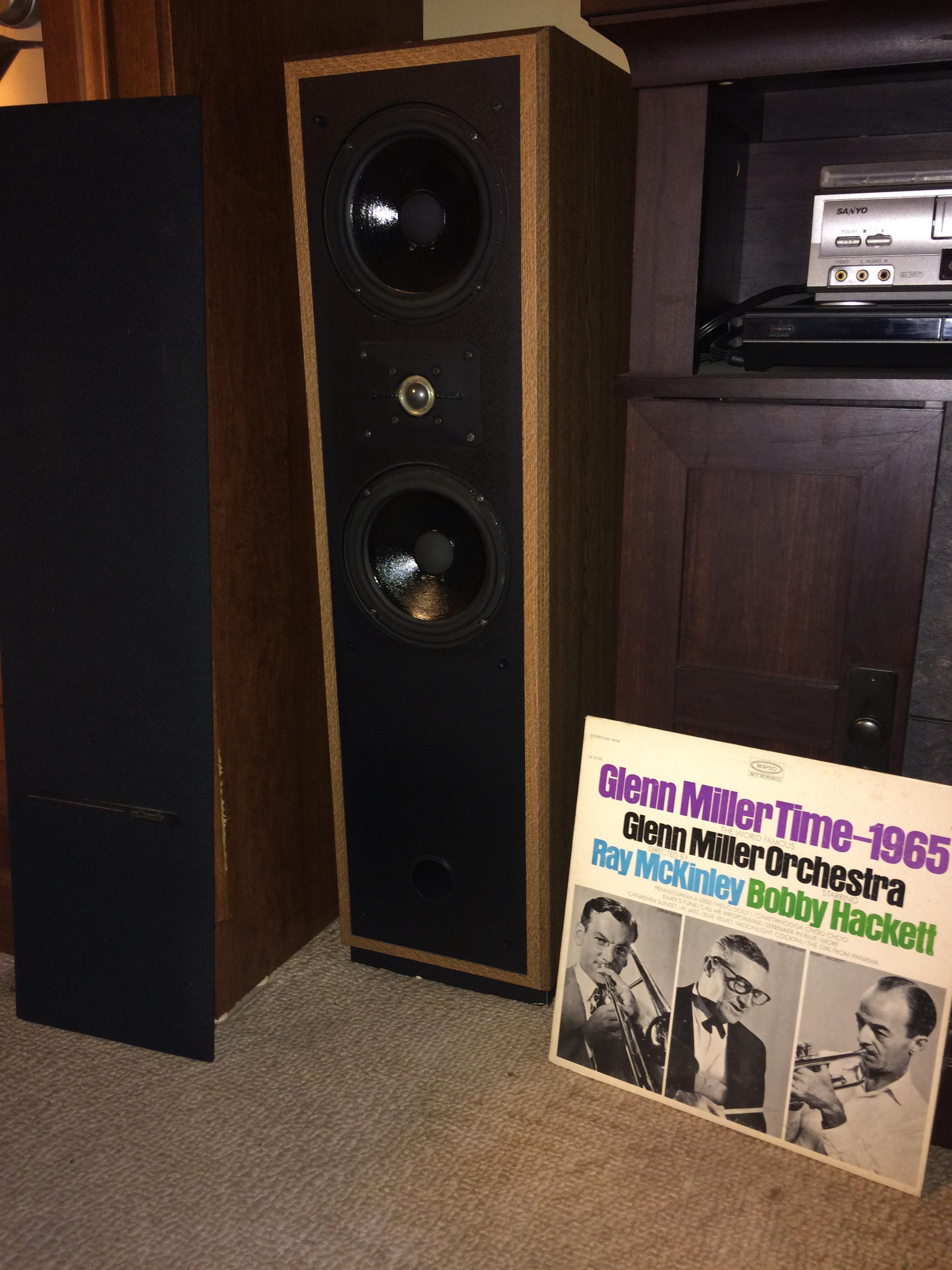 "Polk Audio OEM RD0194-1 SL2000 1/"" Dome Tweeter for SDA RTA /& Monitor Series NEW!"