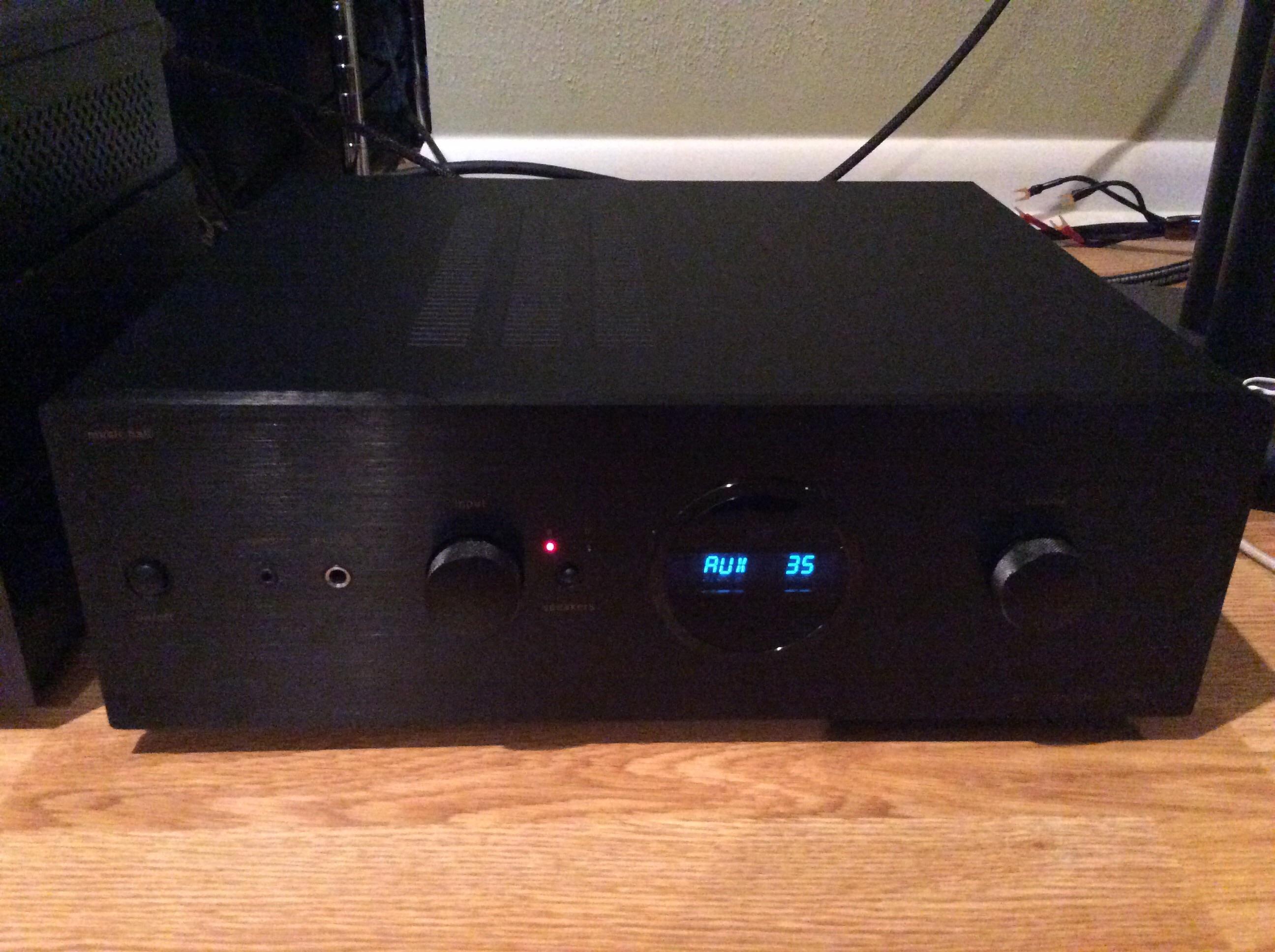 music hall a70 2 integrated amplifier polk audio. Black Bedroom Furniture Sets. Home Design Ideas