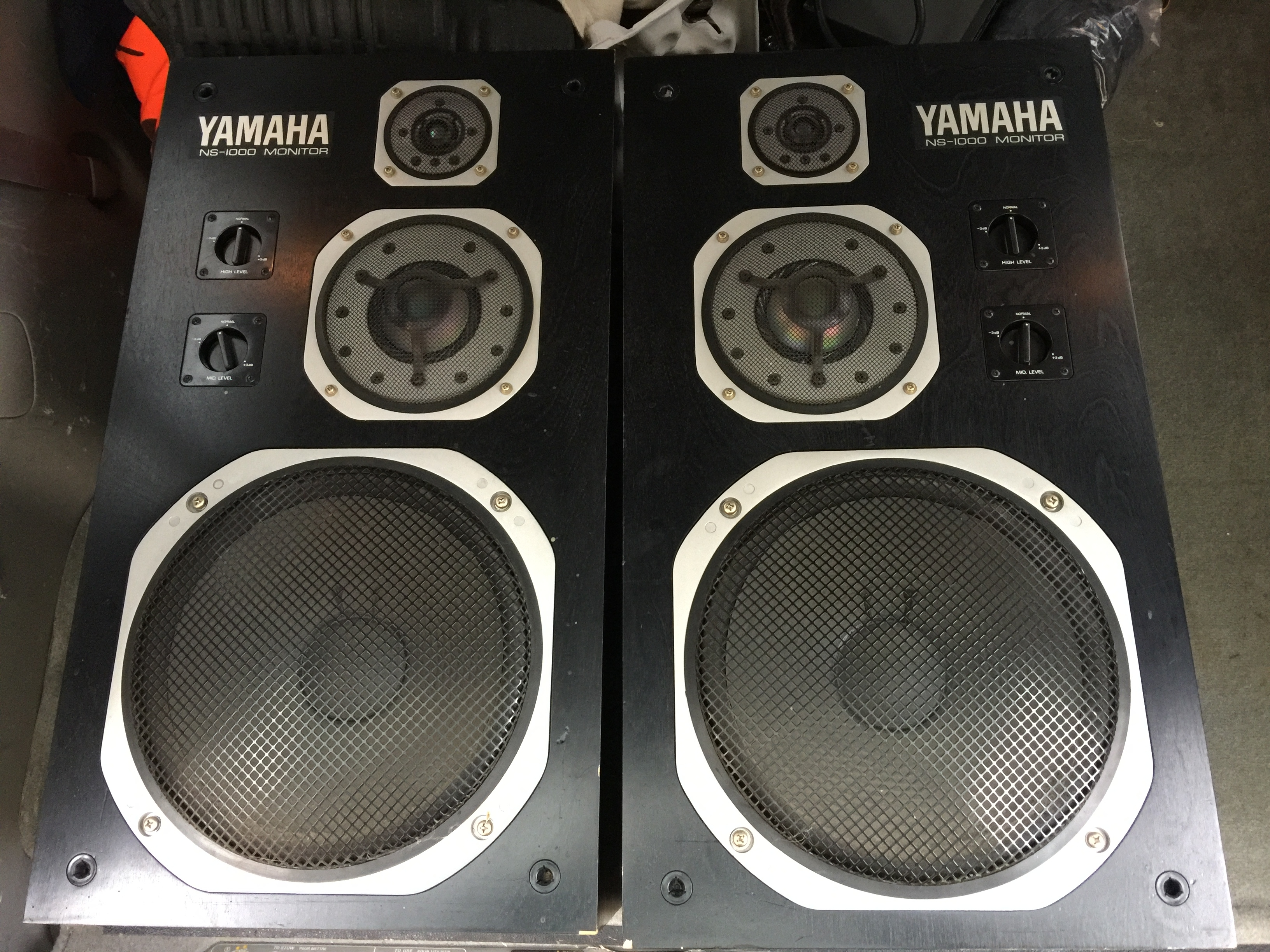 New yamaha ns 1000 39 s in the house polk audio for Garage yamaha paris