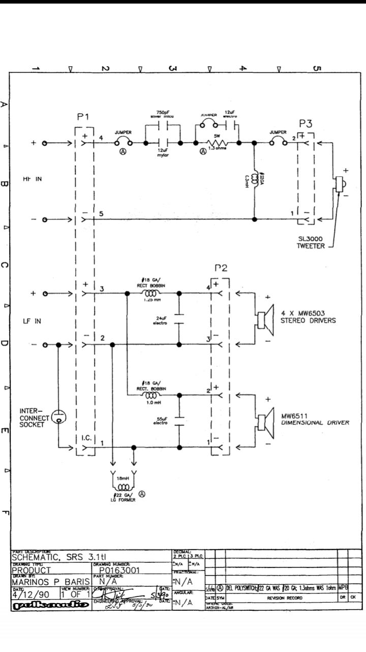 3 1 Wiring Diagram  U2014 Polk Audio