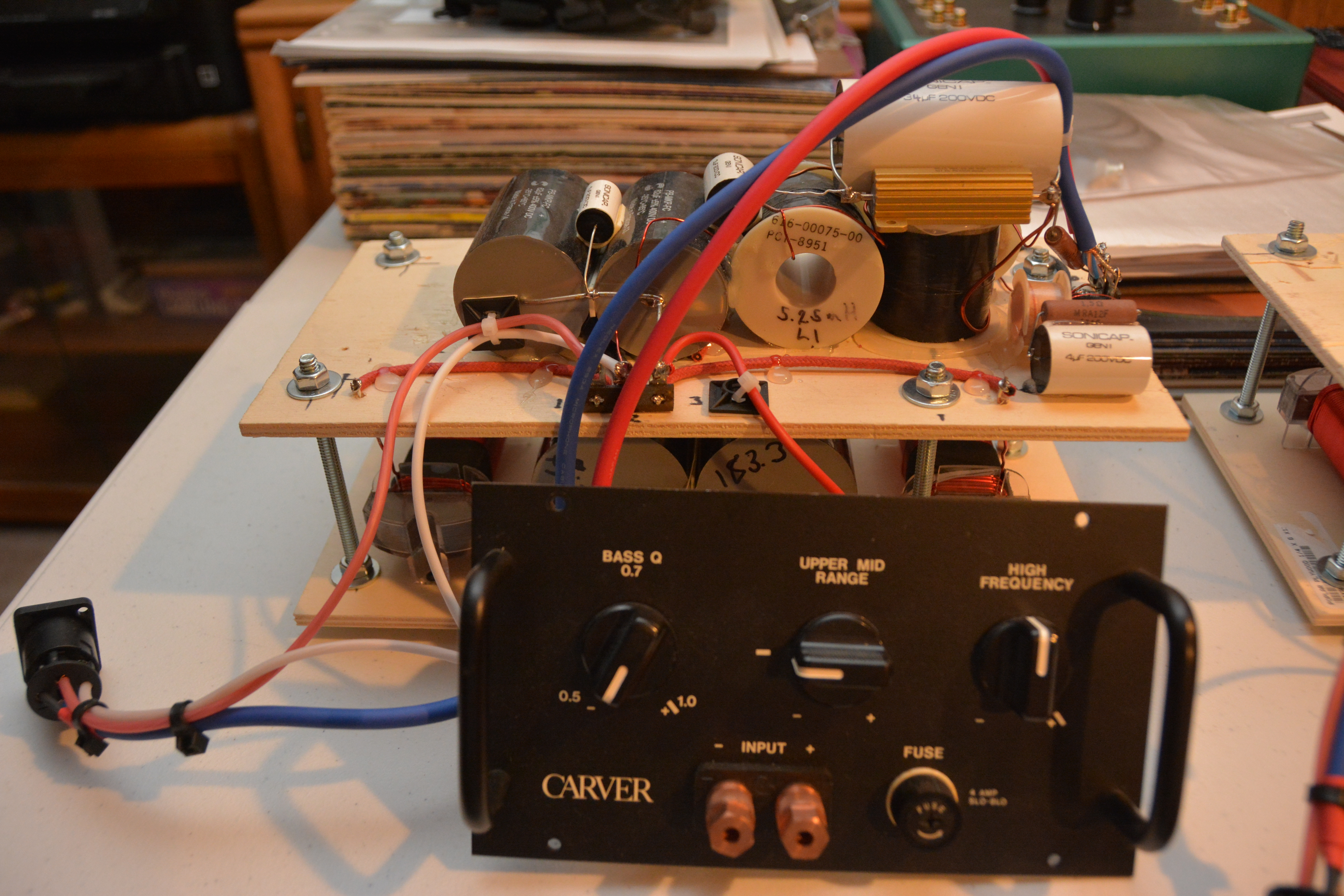 Wiring Diagram Carver Speakers Great Installation Of 4 Ohm Sub Per Silver Amazing 3 10 Woofers And A Ribbon Rh Forum Polkaudio Com Speaker Parallel