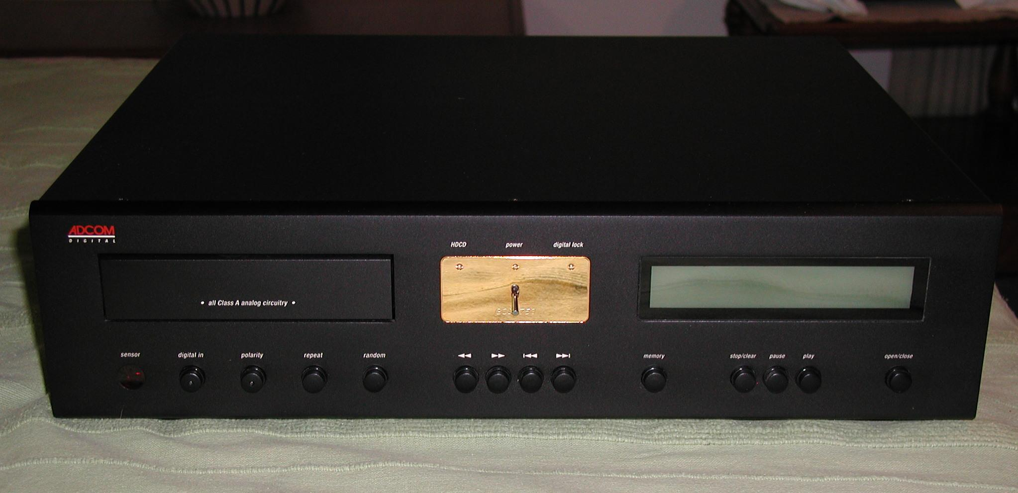 adcom gcd 750 cd player polk audio rh forum polkaudio com