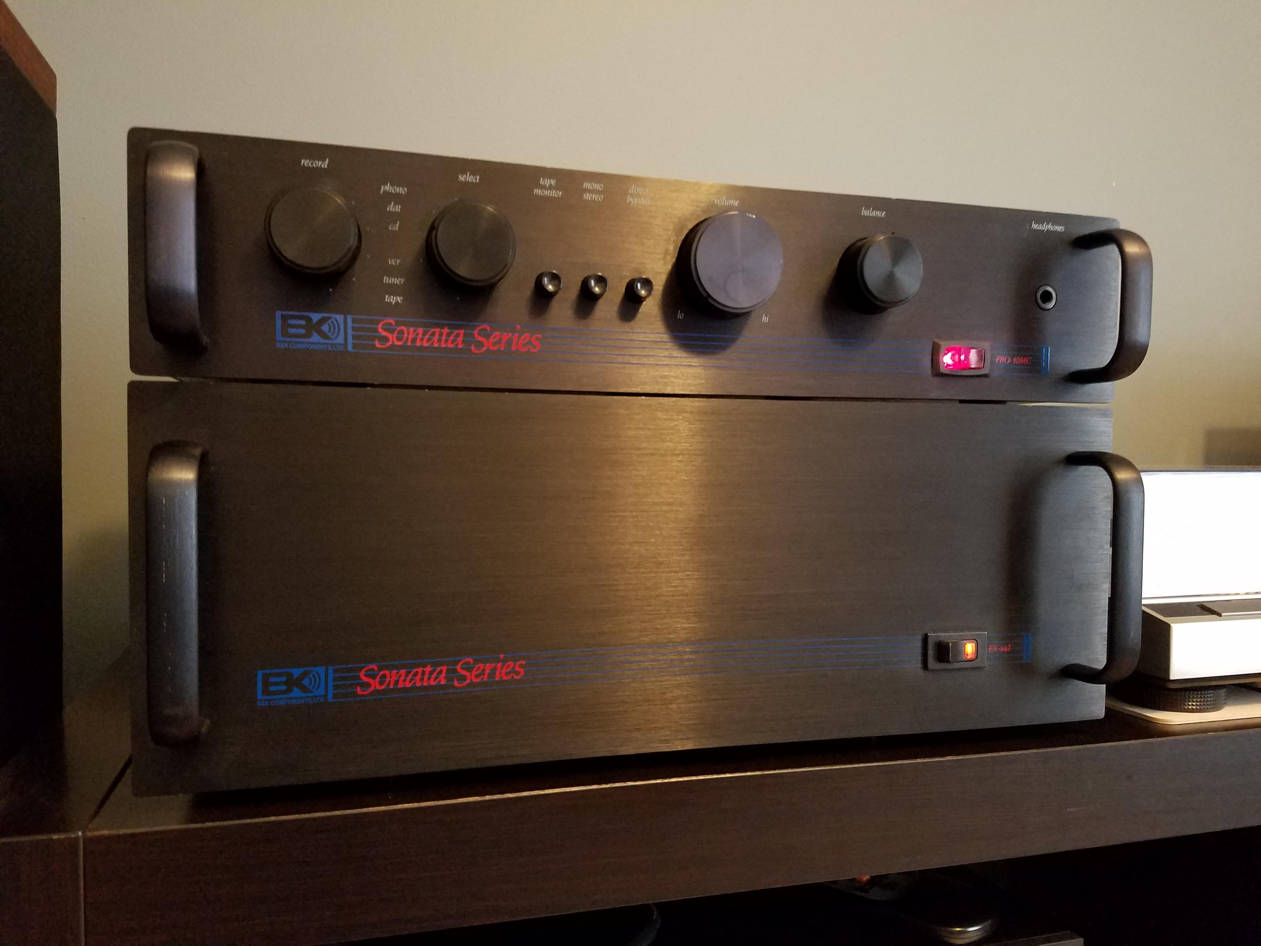 Parasound A23 Or Bk Ex 442 Polk Audio