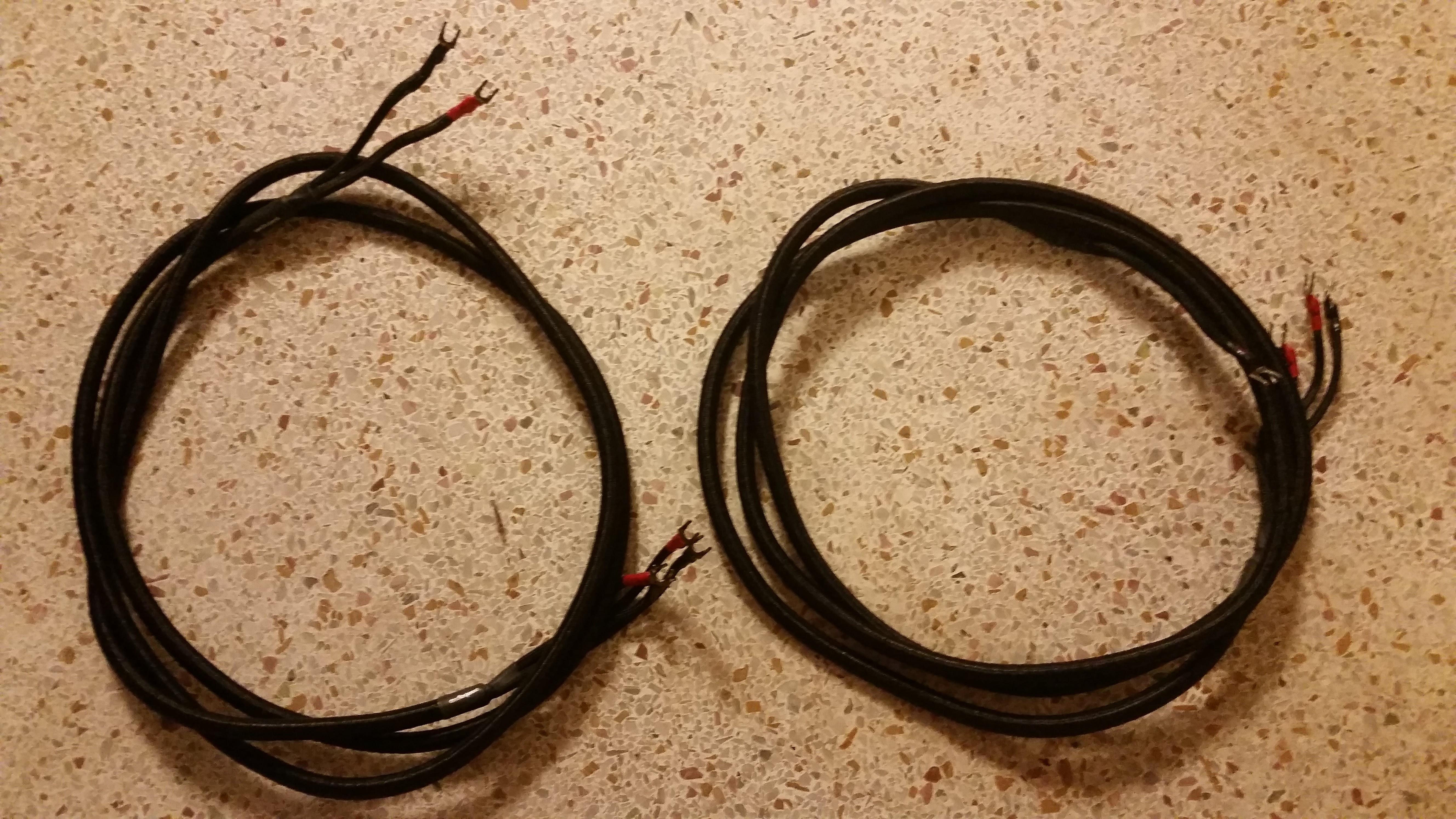 Audio Quest SLATE Bi-Amp Speak Wires, single Bi-Amp Speak Wire& ...