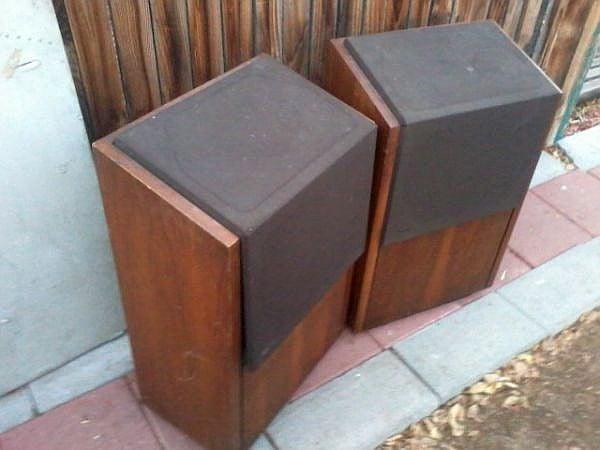 Vintage Epicure 20+ Speakers' restoration    — Polk Audio
