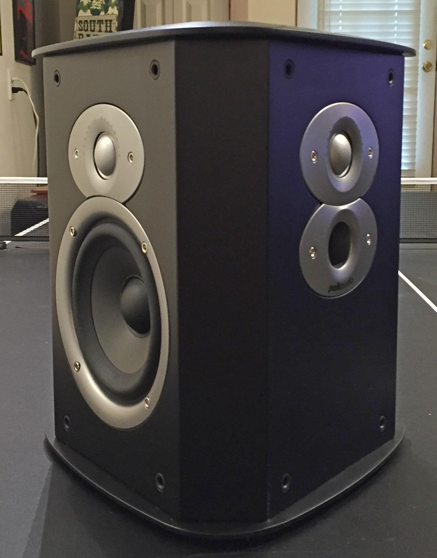 polk fxi a4 surrounds black polk audio. Black Bedroom Furniture Sets. Home Design Ideas