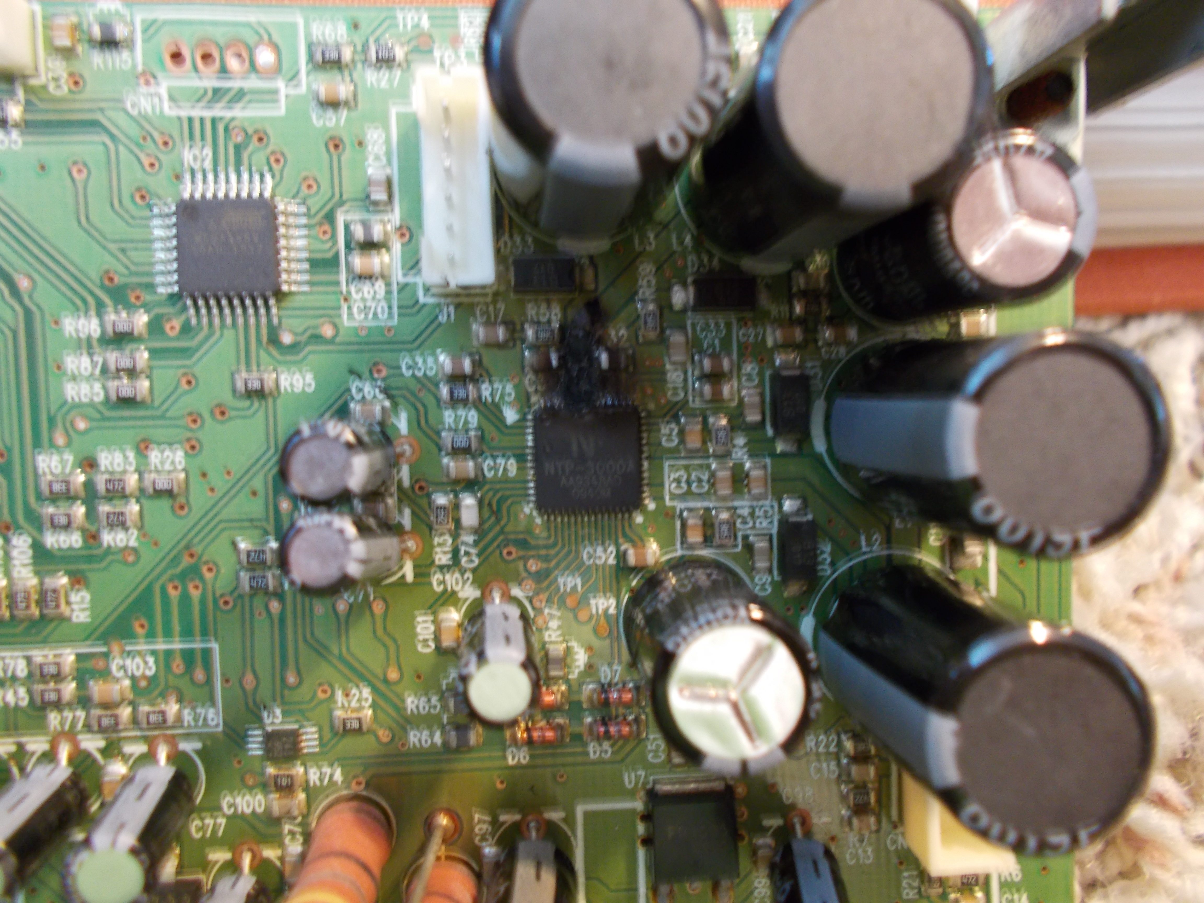 Can I Get A Replacement Circuit Board For My Surroundbar Sda Polk Motherboard Components Find Dscn0403
