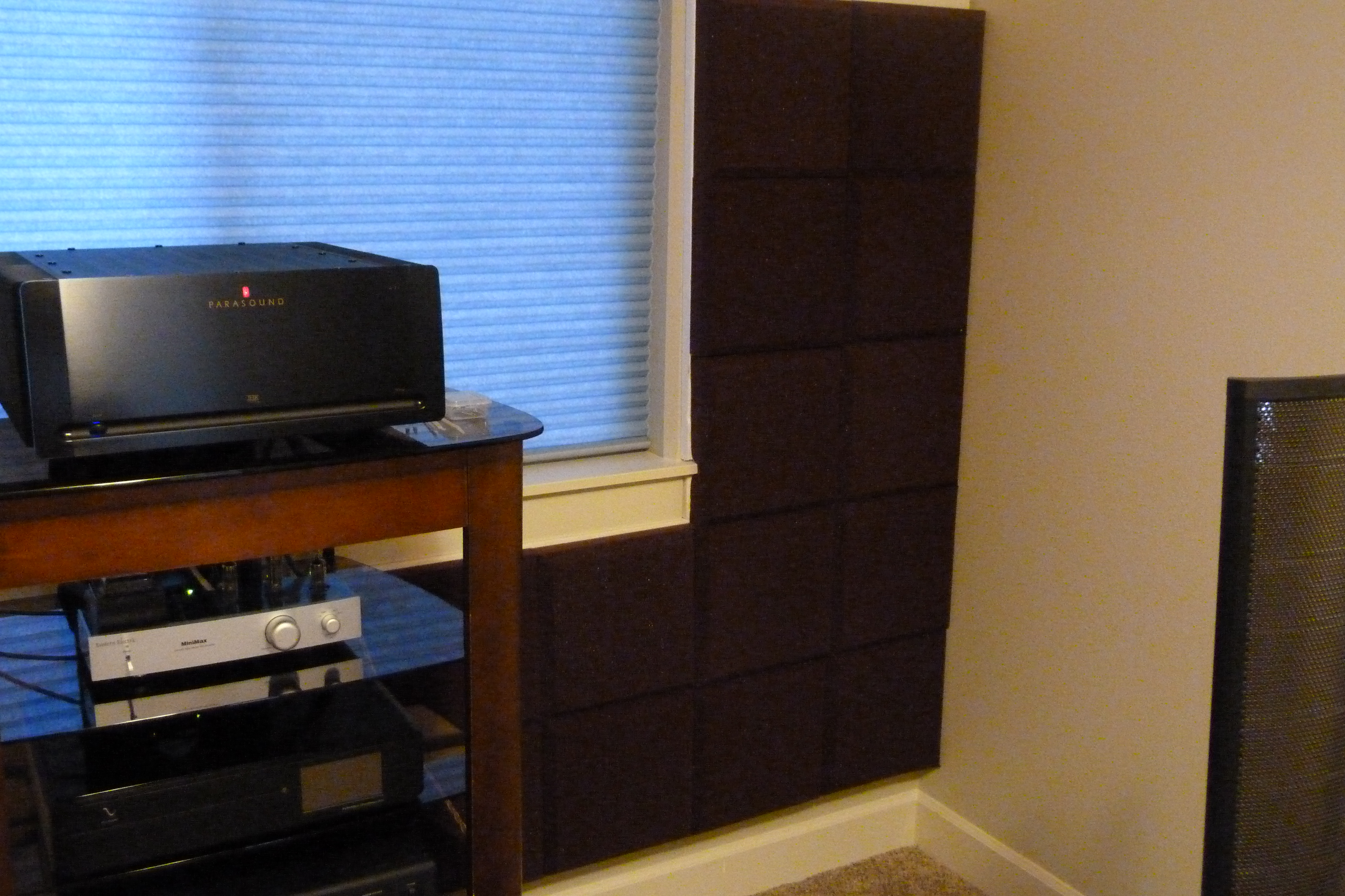Experimenting with room treatment — Polk Audio