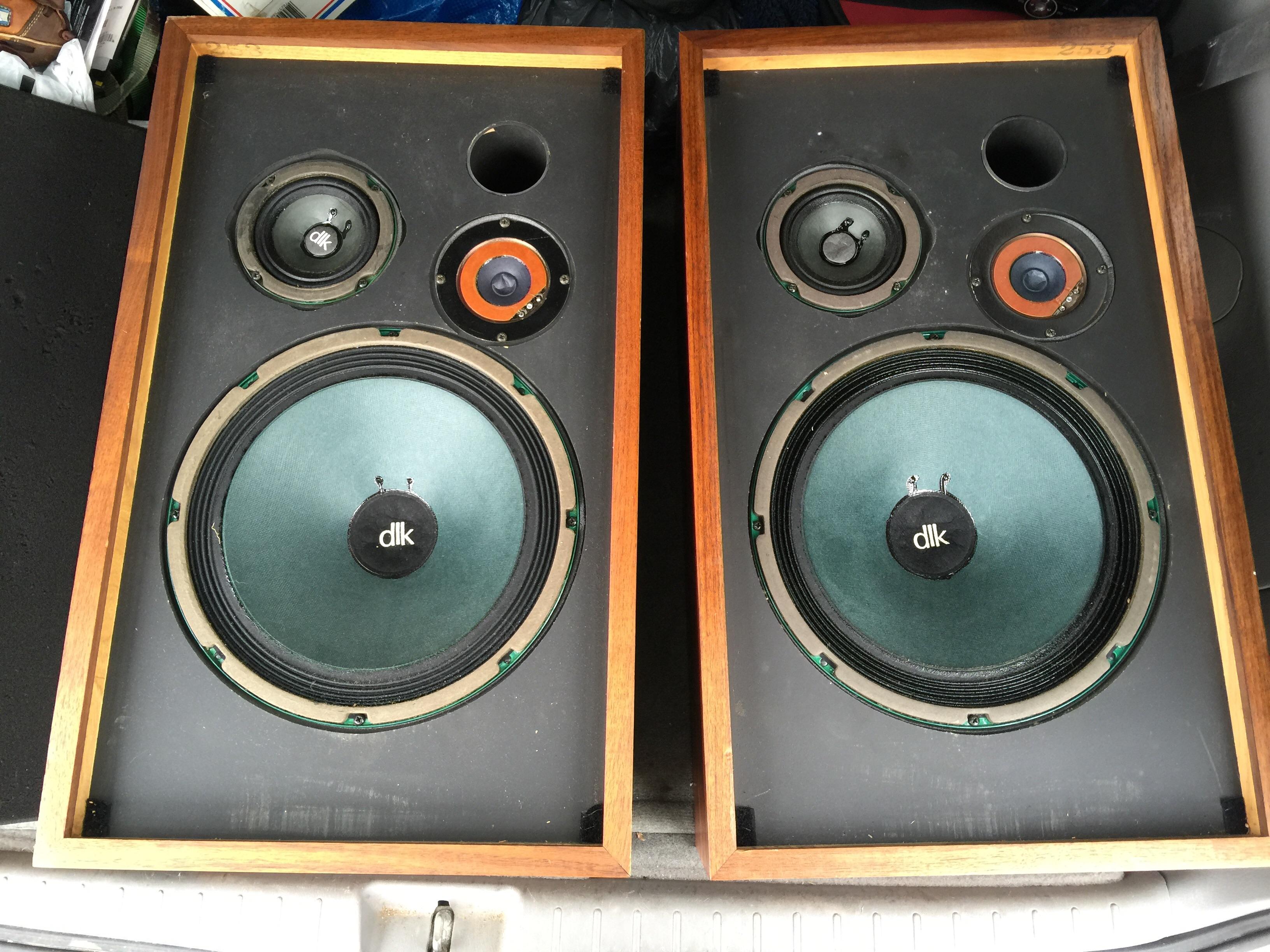 Dlk Model 2 Speakers Local Twin Cities Pick Up Polk Audio