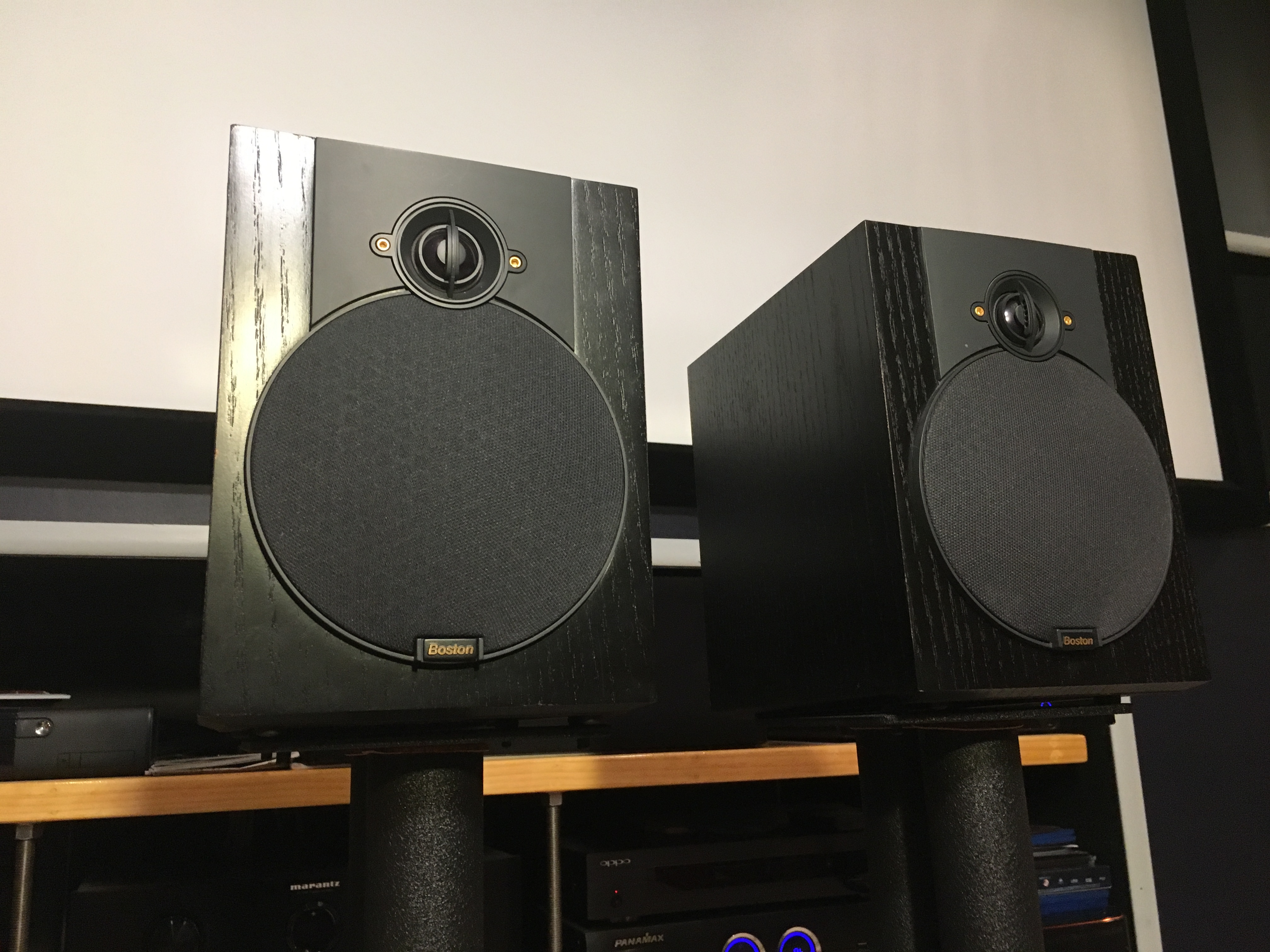 Boston Acoustics Vr Speakers For Sale Complete 71 Or Will A 250 Zec2vhzq96ch