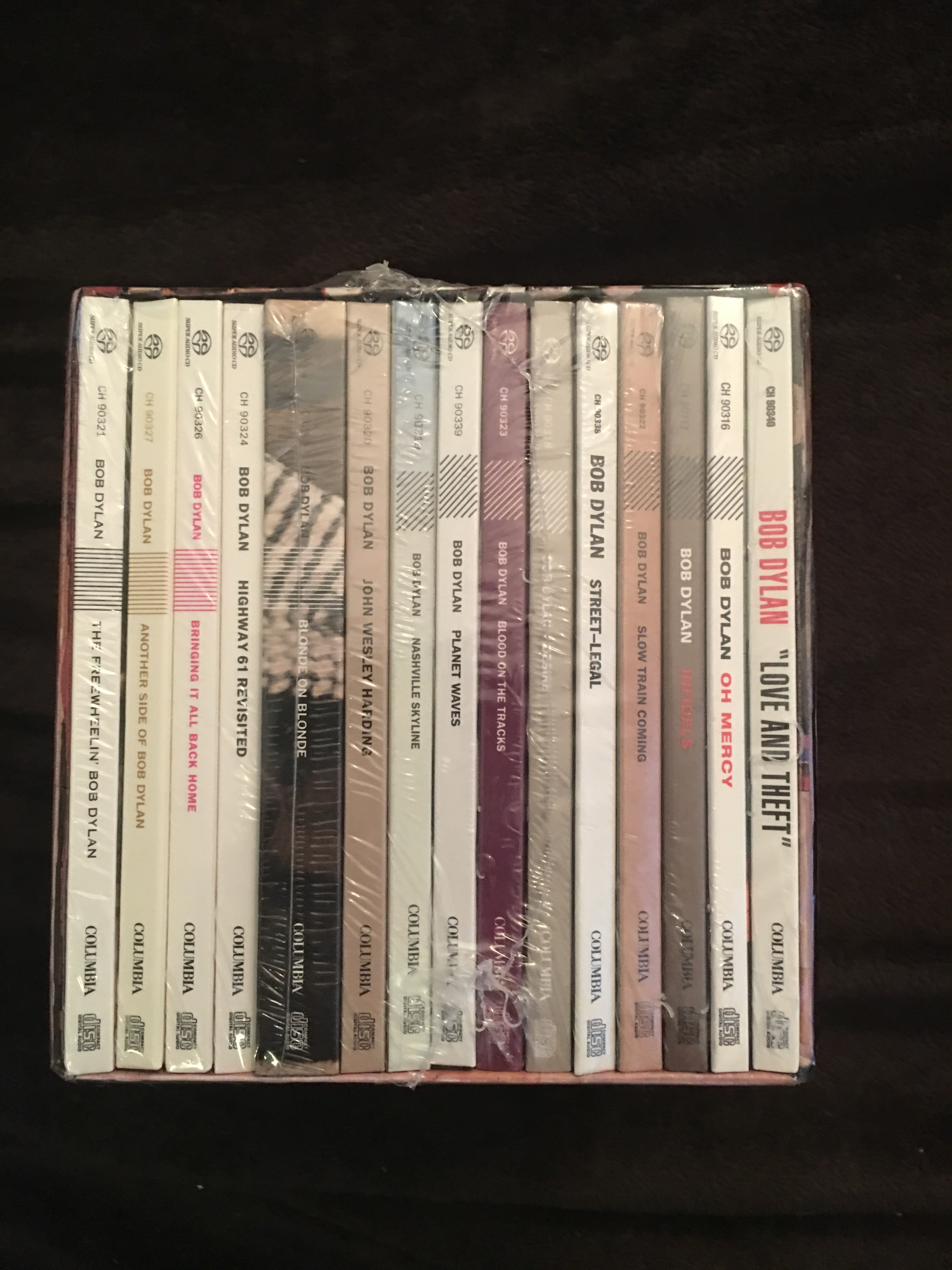 Bob Dylan SACD 16CD Limited Edition Box Set, Brand New, $320 ...
