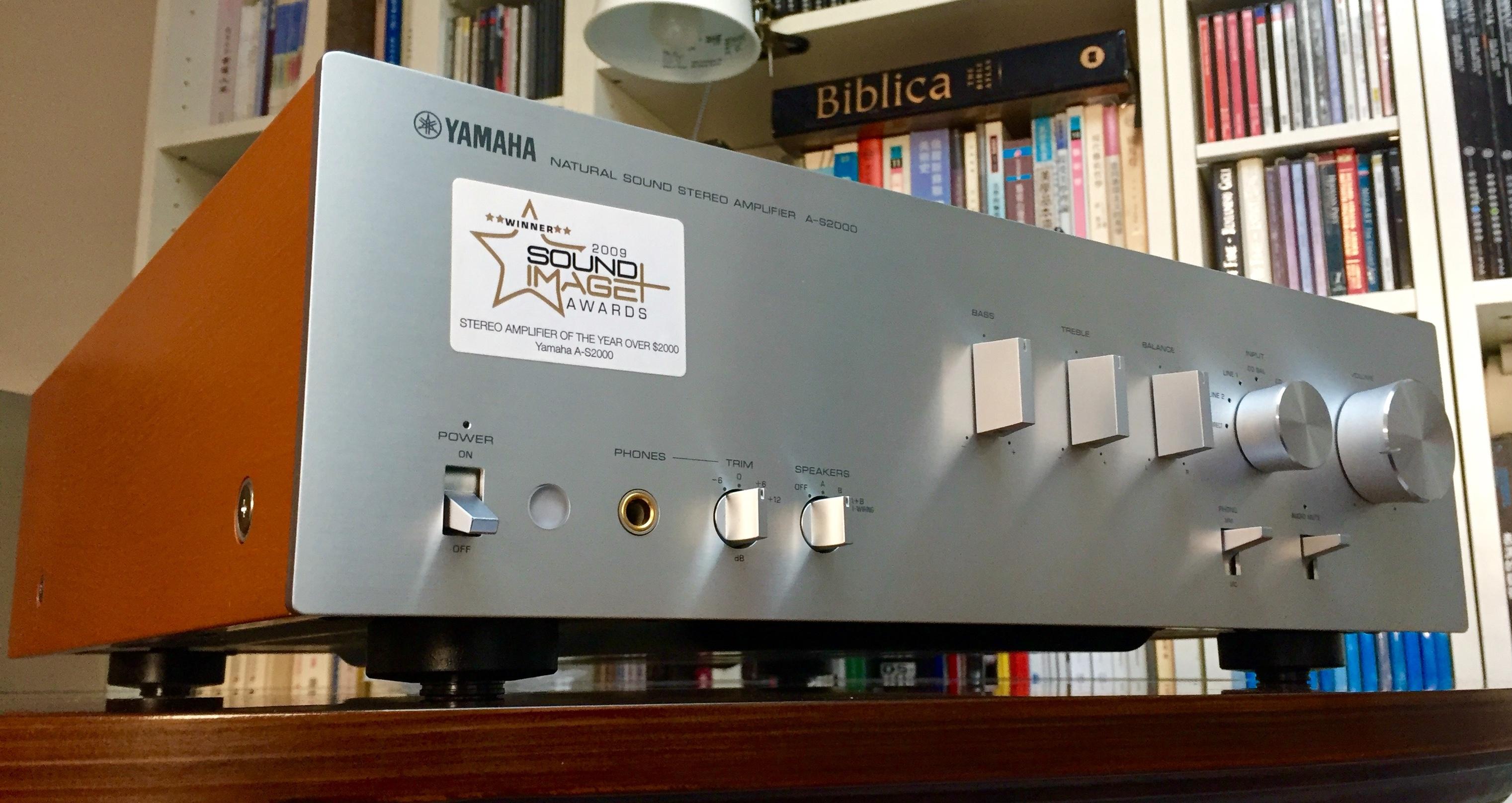 Yamaha A-S2000 Integrated Amp — Polk Audio