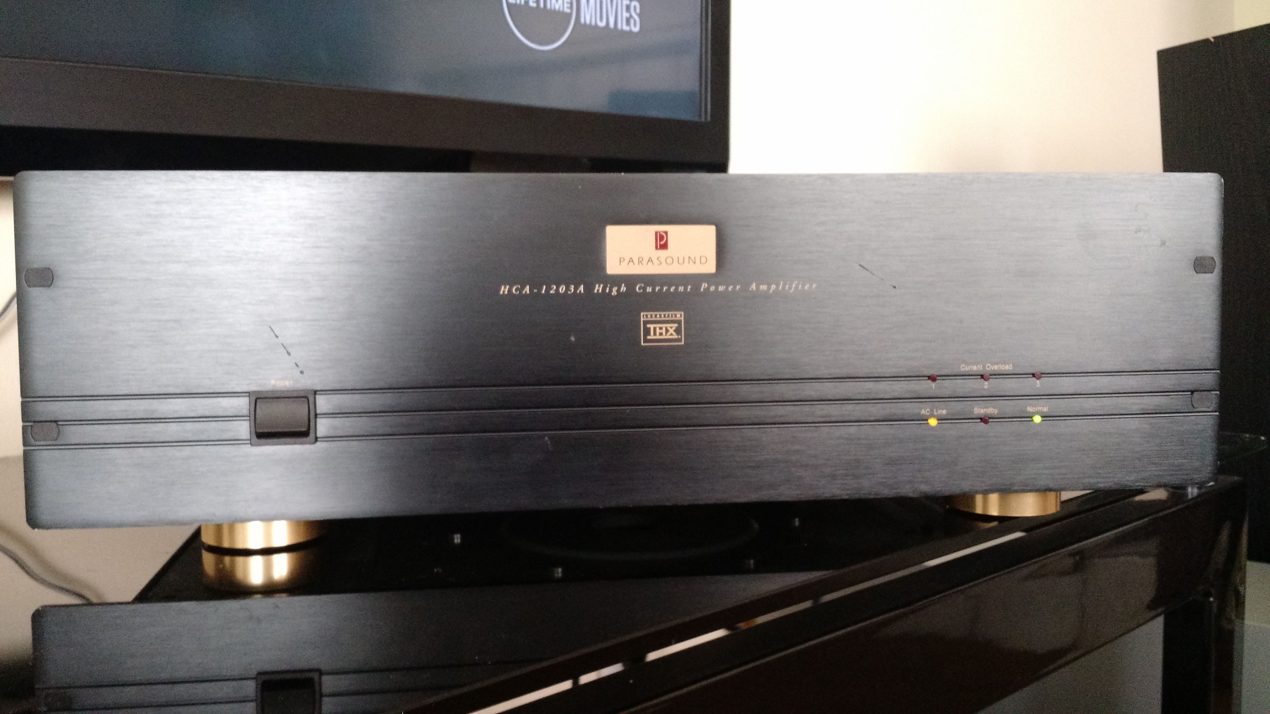 Parasound Hca 1203a 3 Channel Amp Polk Audio