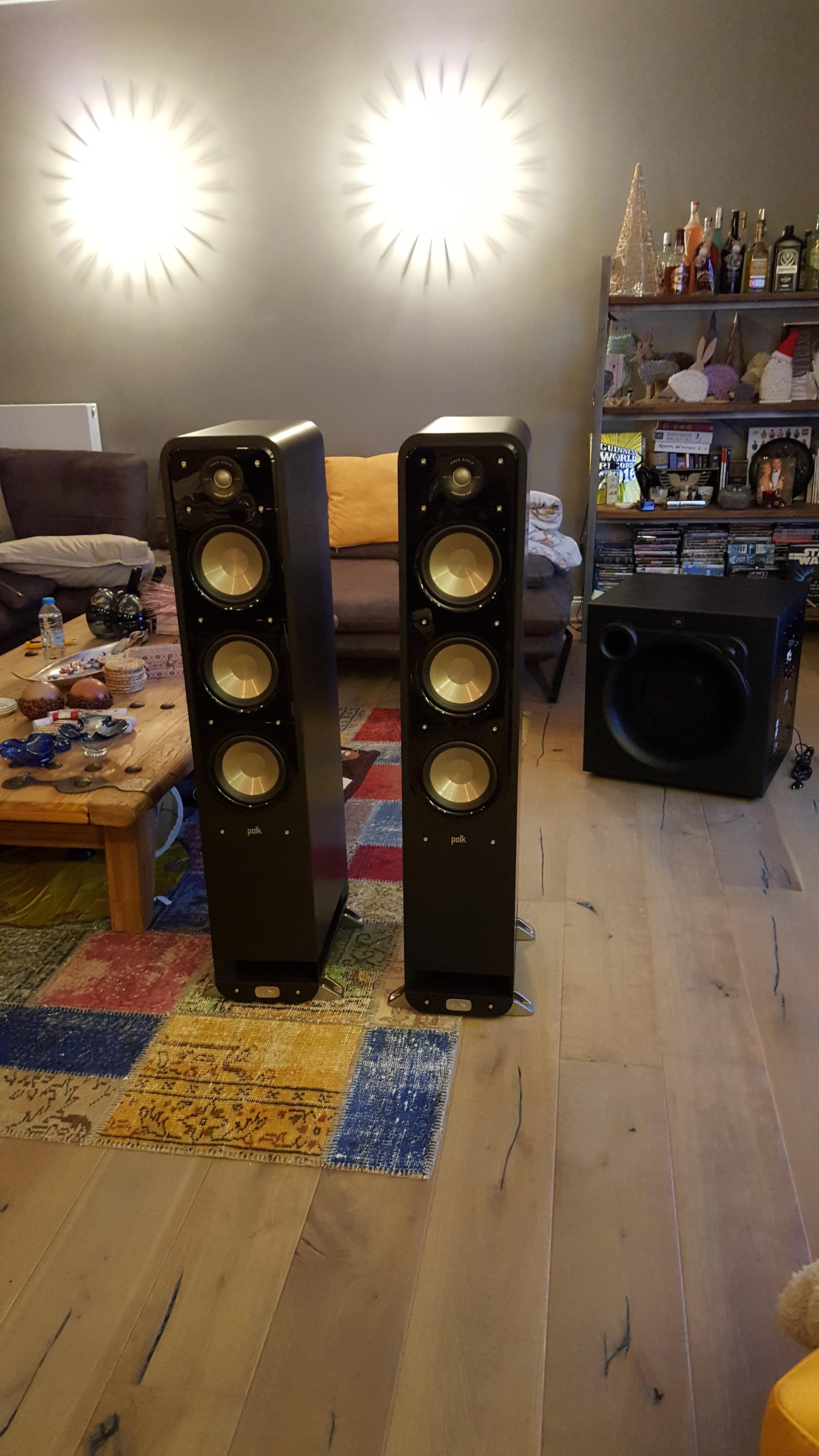 Polk S60 S35 S20 Arrived Polk Audio