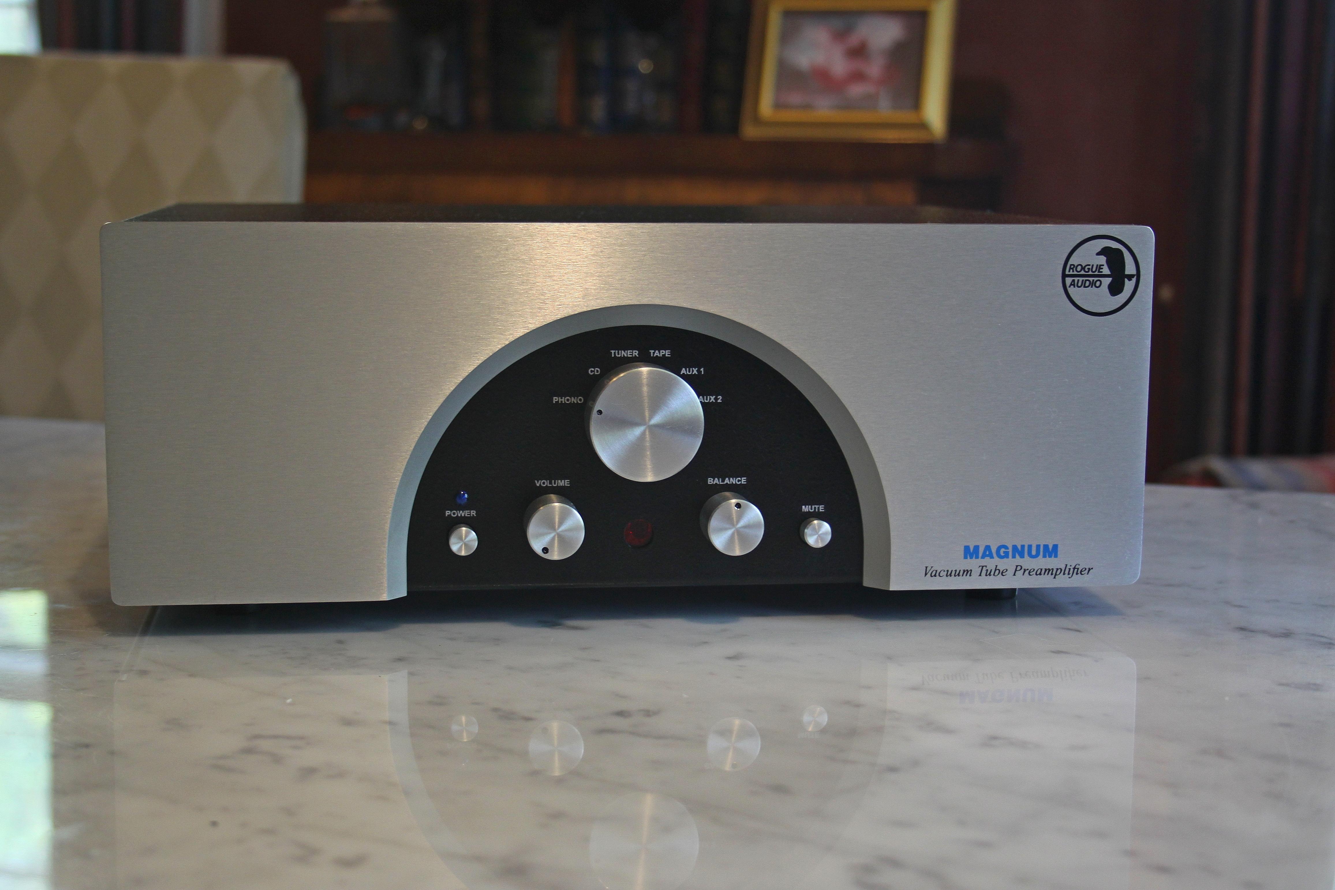 fs rogue audio magnum 66 tube preamp polk audio. Black Bedroom Furniture Sets. Home Design Ideas