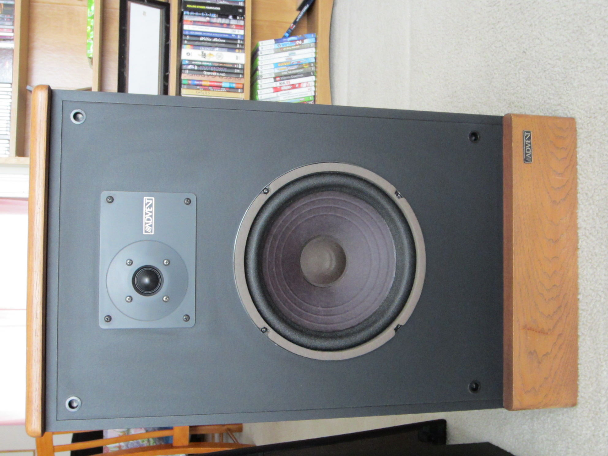 advent legacy speakers polk audio. Black Bedroom Furniture Sets. Home Design Ideas