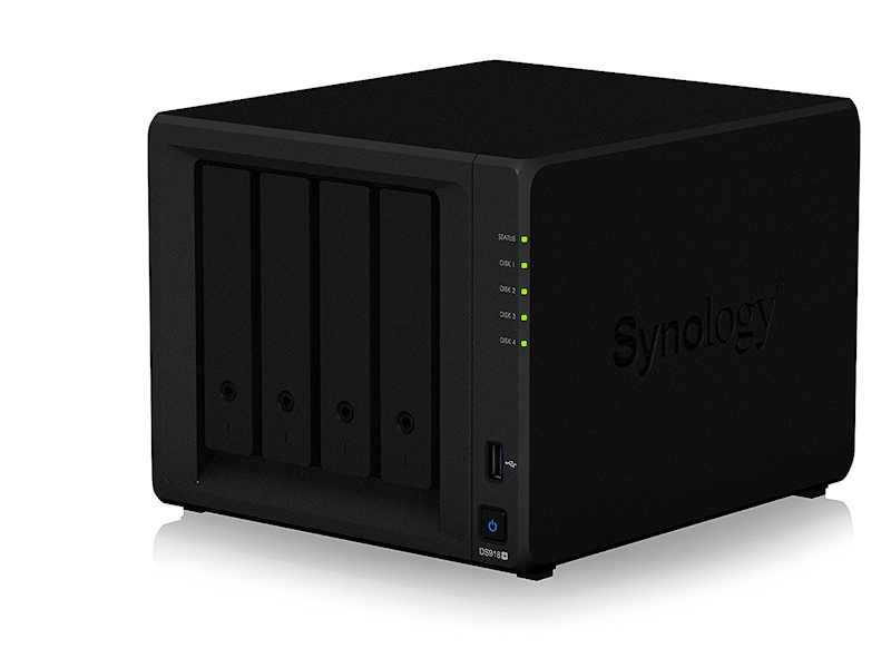 Digitizing My Movie Collection: Synology DS 918+ NAS Review