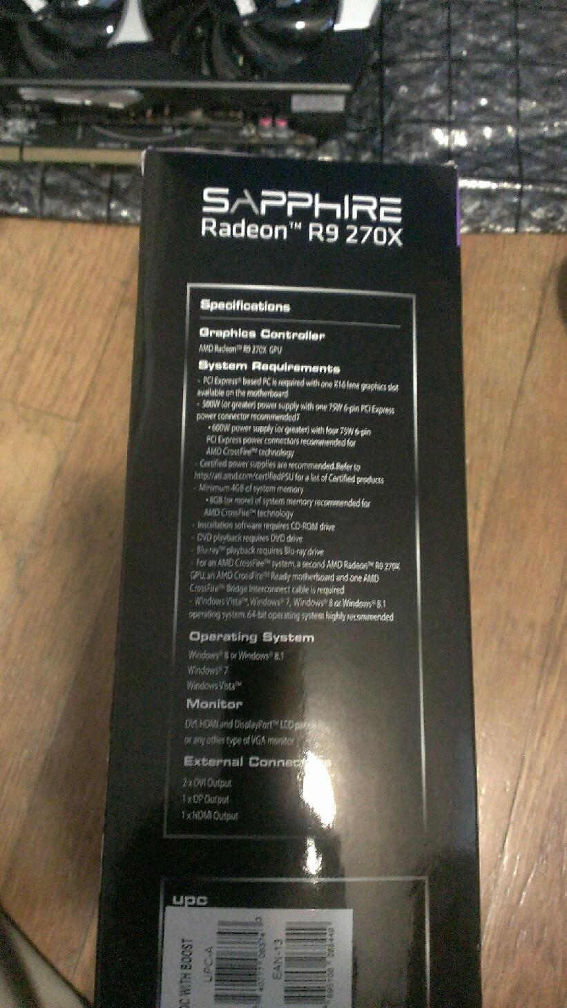 Sapphire R9 270X 4GB DDR5 DualX, Boost & OC — Polk Audio