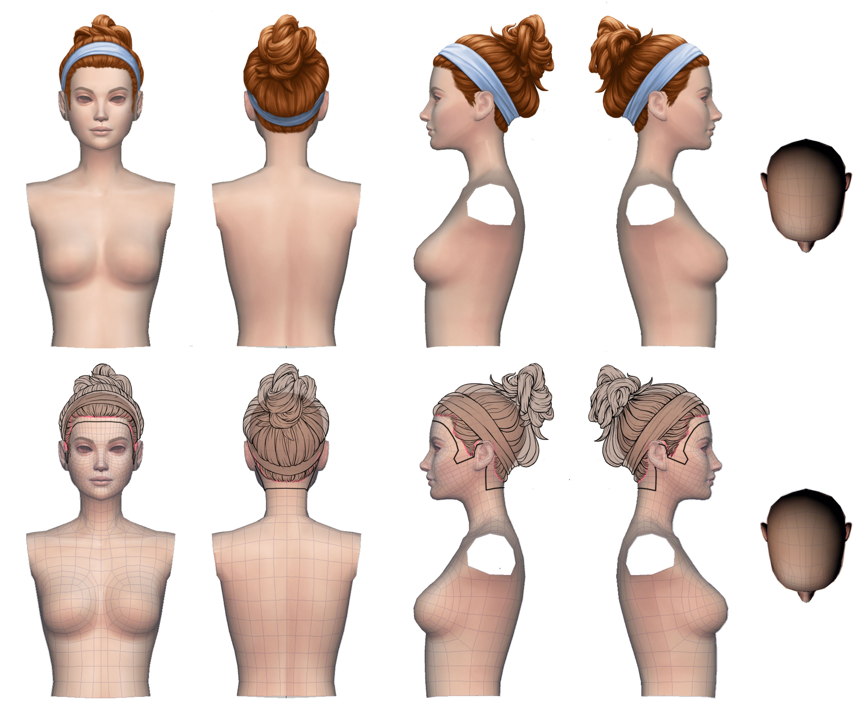 Dev Update Laundry Day Hairstyles The Sims Forums