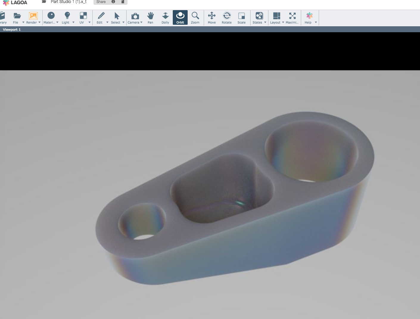 Onshape for frame design workflow to adopt onshape Online rendering tool