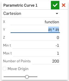 Equation-driven curve — Onshape