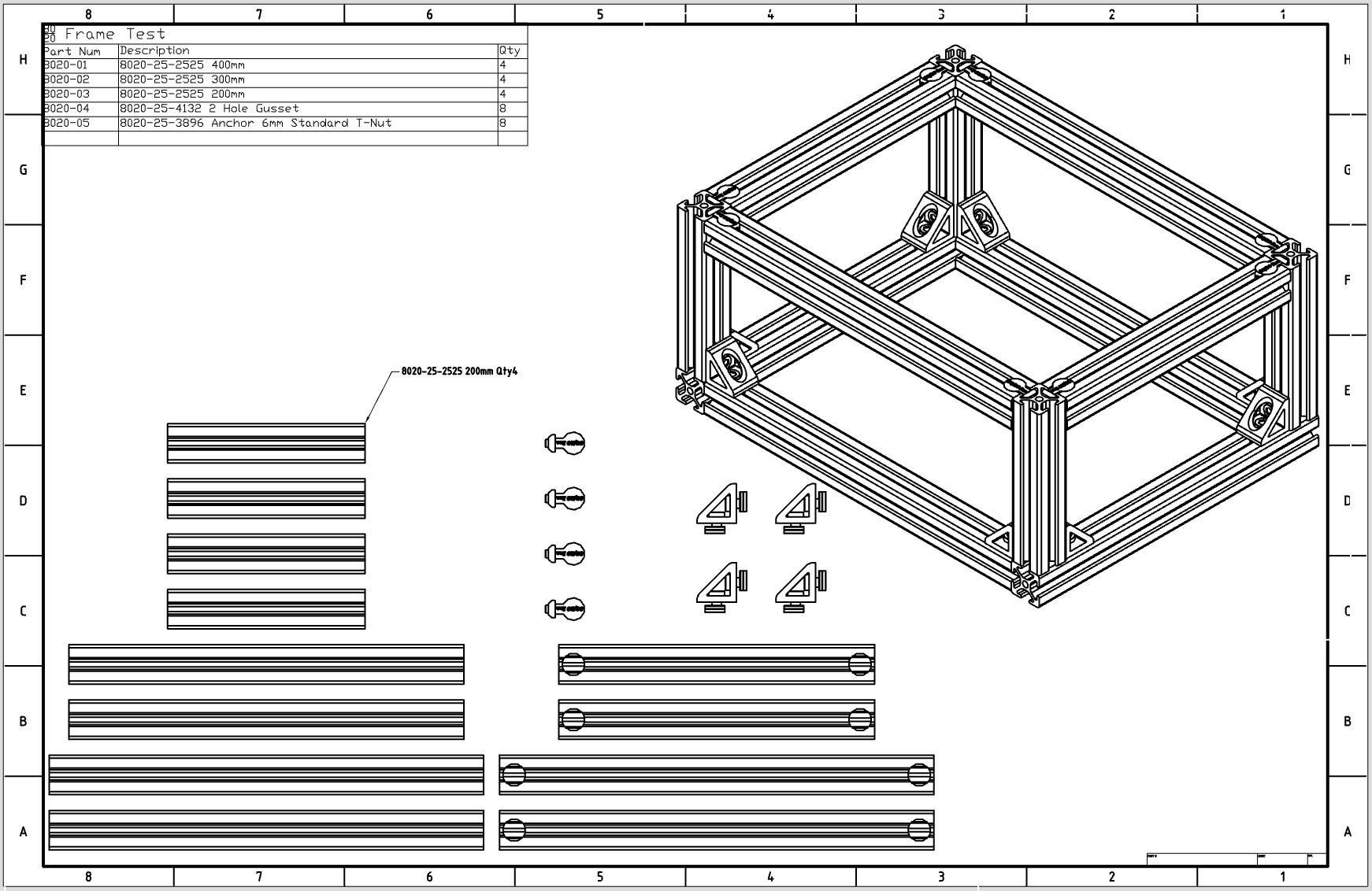 8020 Quick Frame - Classycloud co