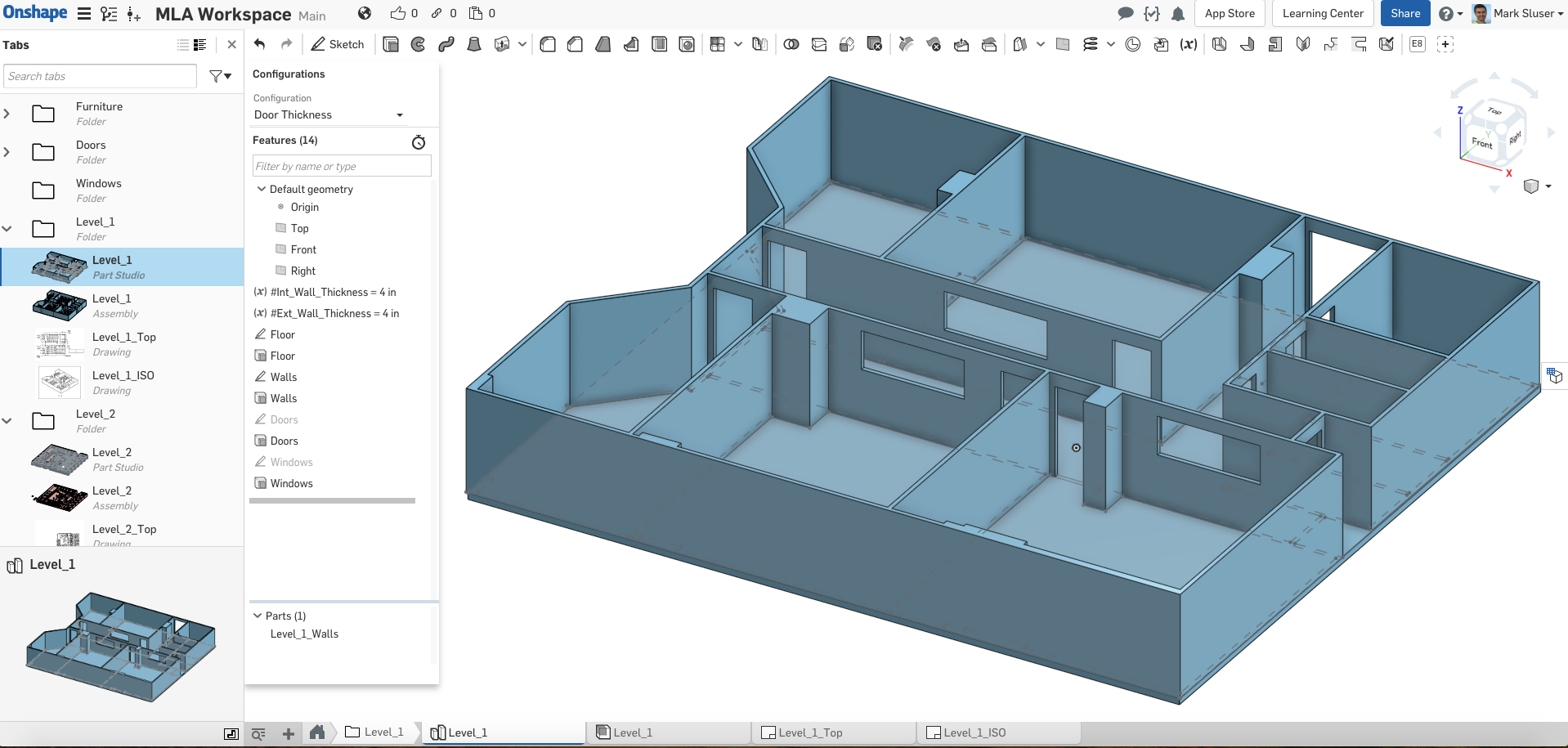 Building layouts floor plan seeking your advice onshape for Building layout maker