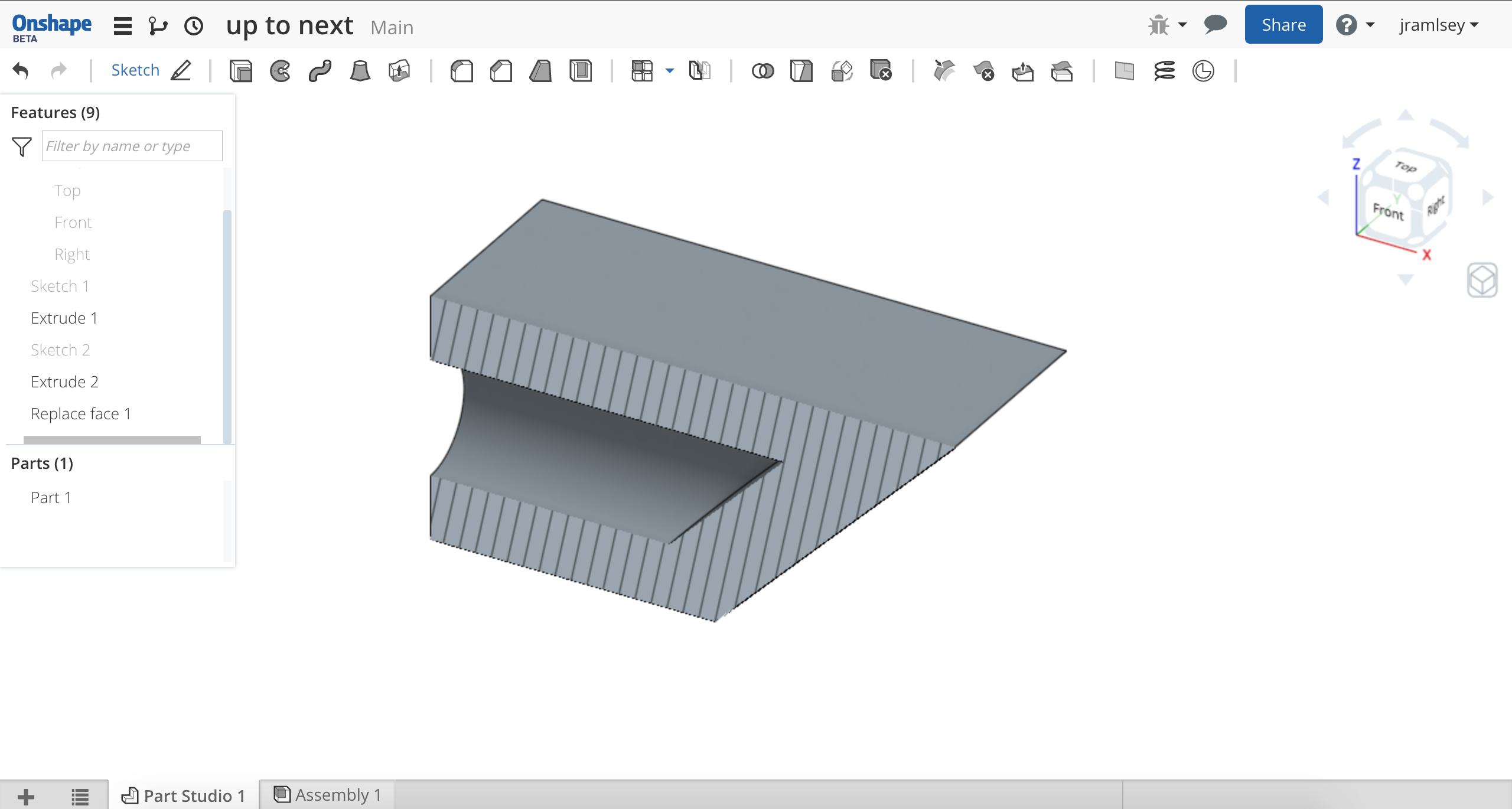 Extrude-Remove-Offset from Surface to retain wall thickness? — Onshape