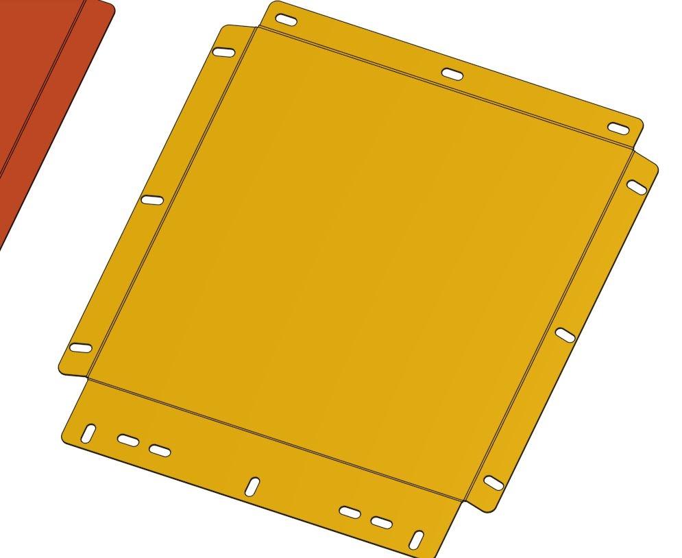 Sheet Metal Flat Model Export Onshape