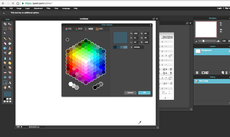 Paint Matrix: Color Picker 99