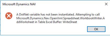 Excel Buffer NAV 2015 - multiple sheets — mibuso com