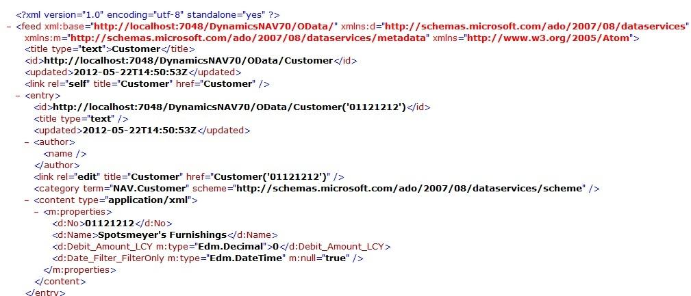NAV2013 WebService OData Query - Querying FlowFilter(?) — mibuso com