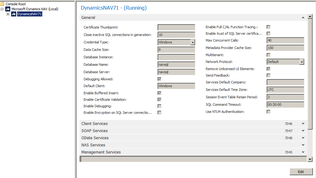Error When I Try To Open Nav 2013 Three Server Installatio