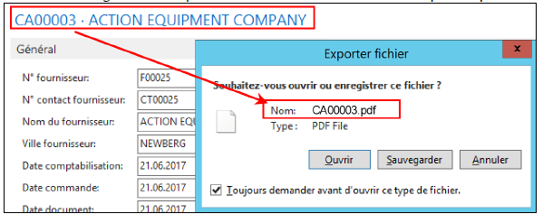 How I Can Change The Name Of Pdf File Generate With Nav 2016