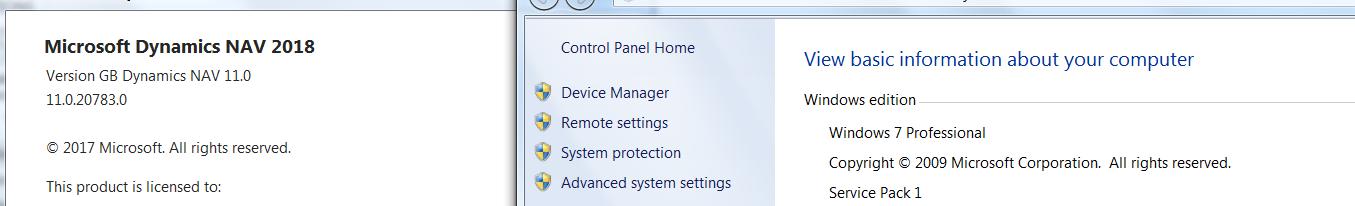NAV 2018 Installation on Windows 7 SP1 — mibuso com
