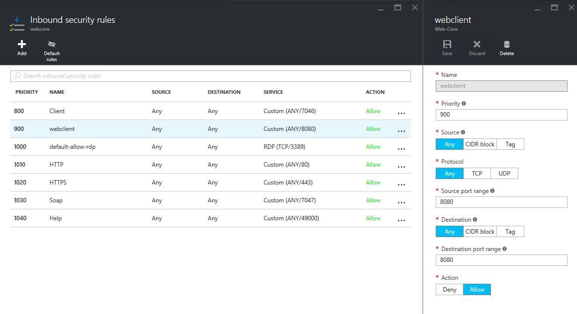 External access to NAV 2016 on Azure — mibuso com