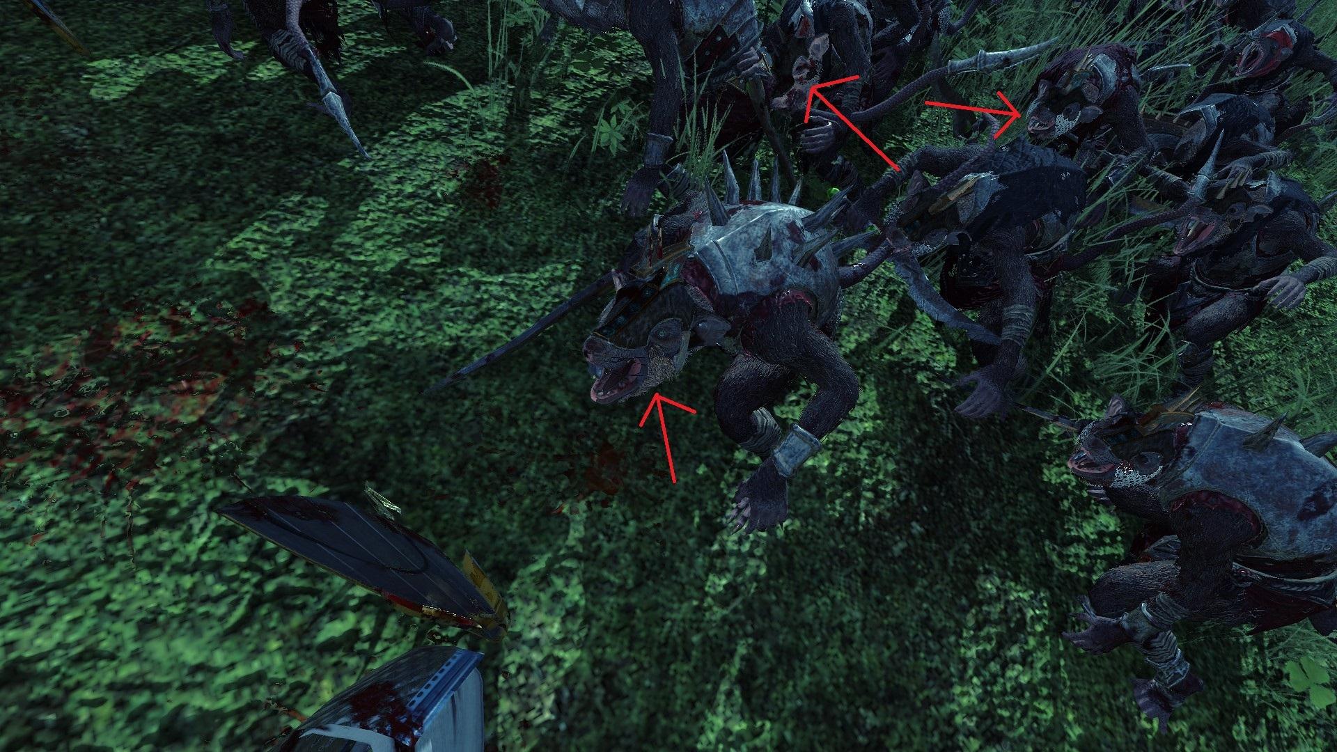 broken textures of clanrats + Hydra — Total War Forums