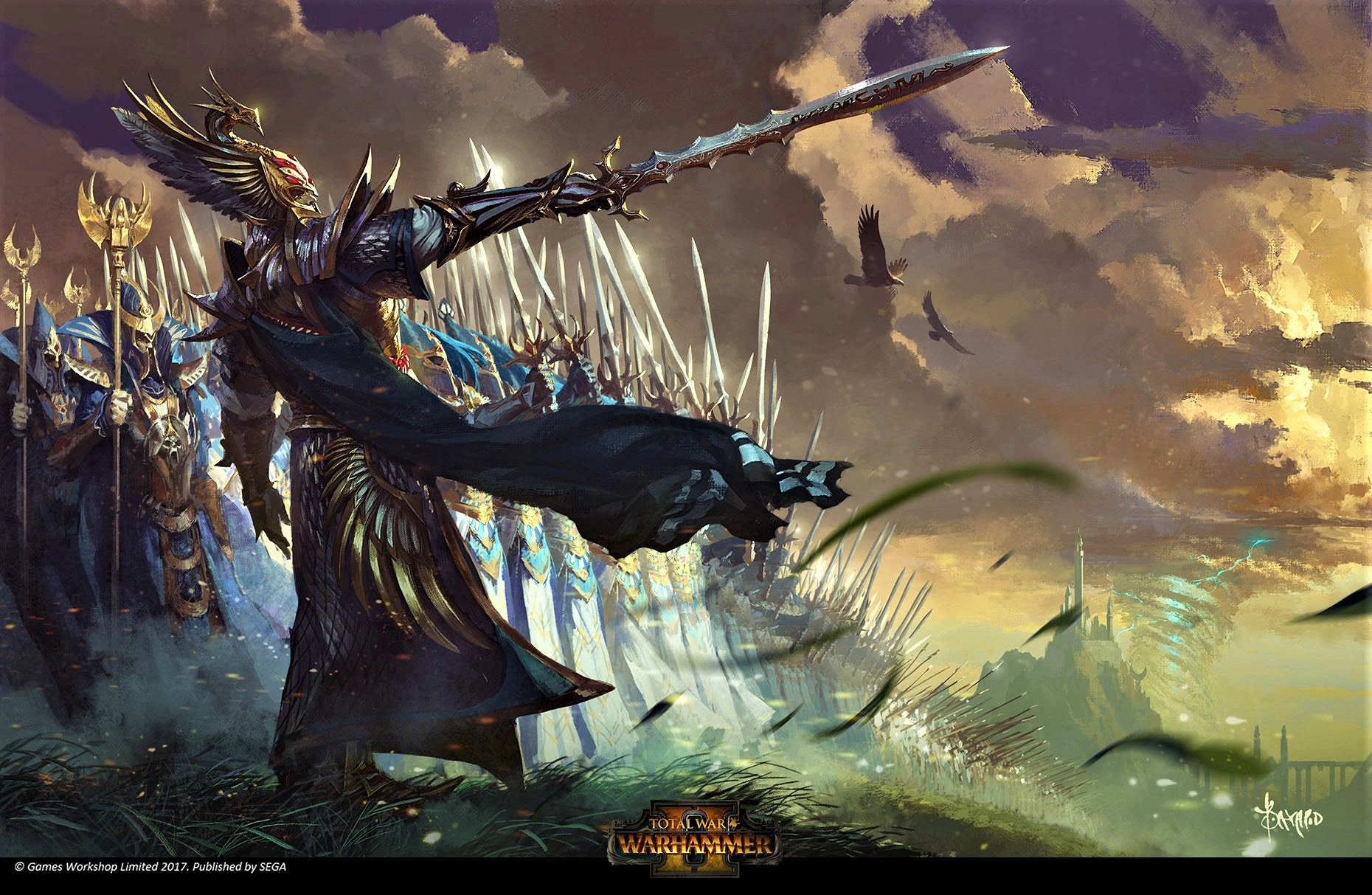 High Elf Artwork Total War Forums