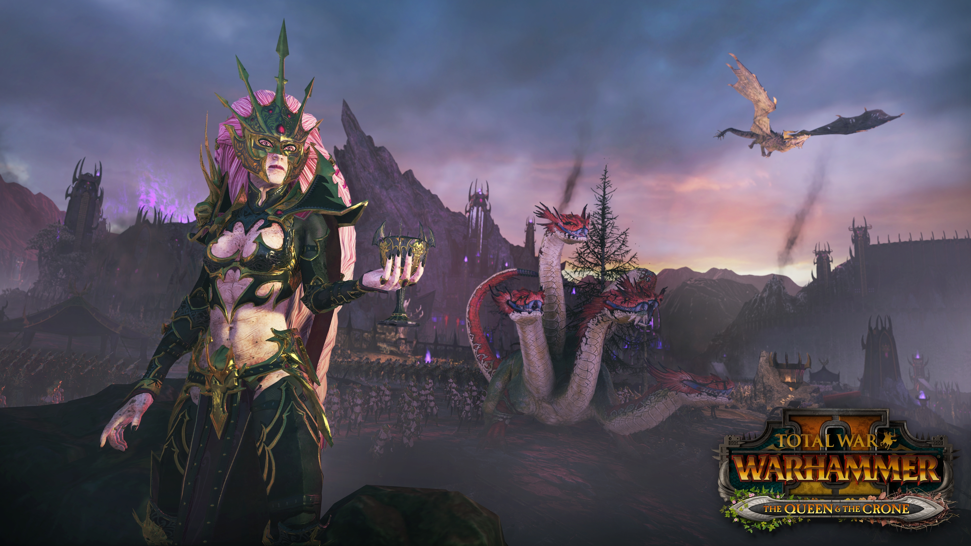 The Queen The Crone Screenshot And Wallpaper Total War