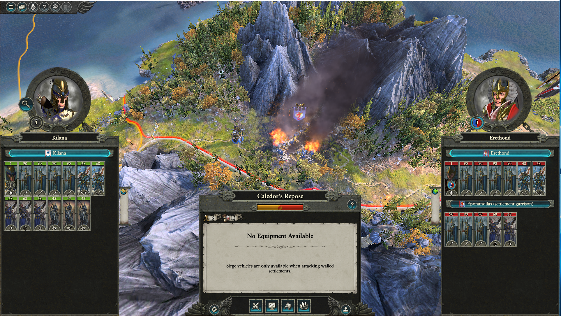 Game crashes loading to campaign from battle — Total War Forums