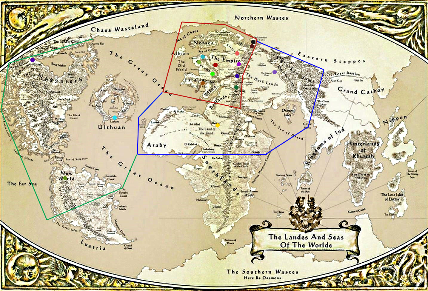 Any Theories on How the Trilogy Map Will Look Page 4 Total War