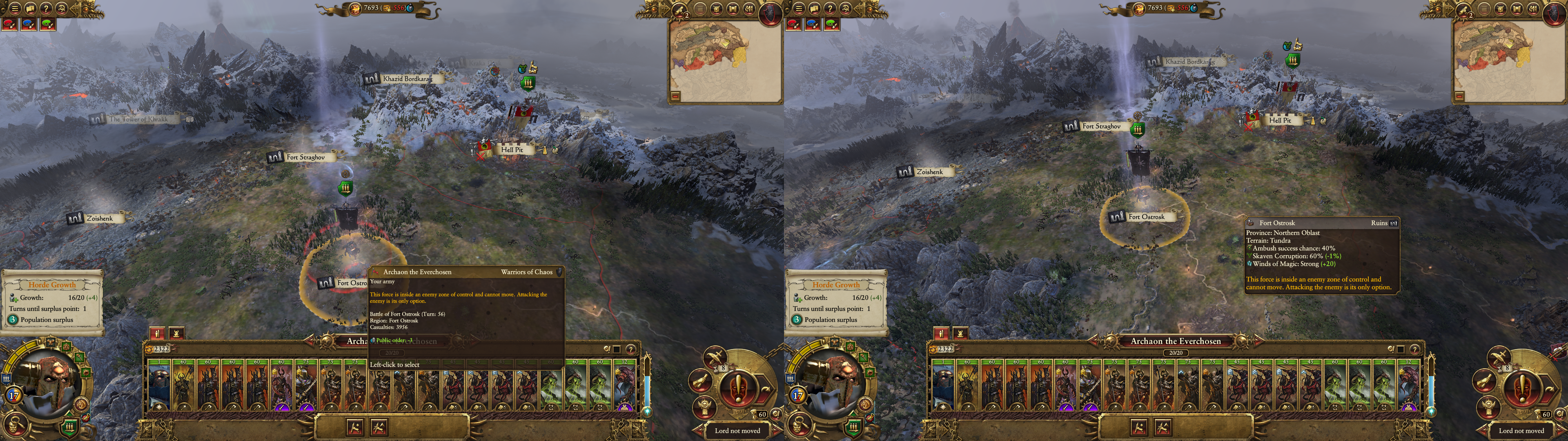 BUG: Can't move in multiplayer campaign after attacking an army