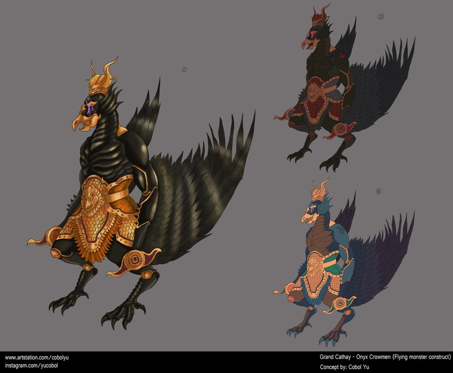 Total War: Warhammer 3 Grand Cathay fan Concept #15: Onyx