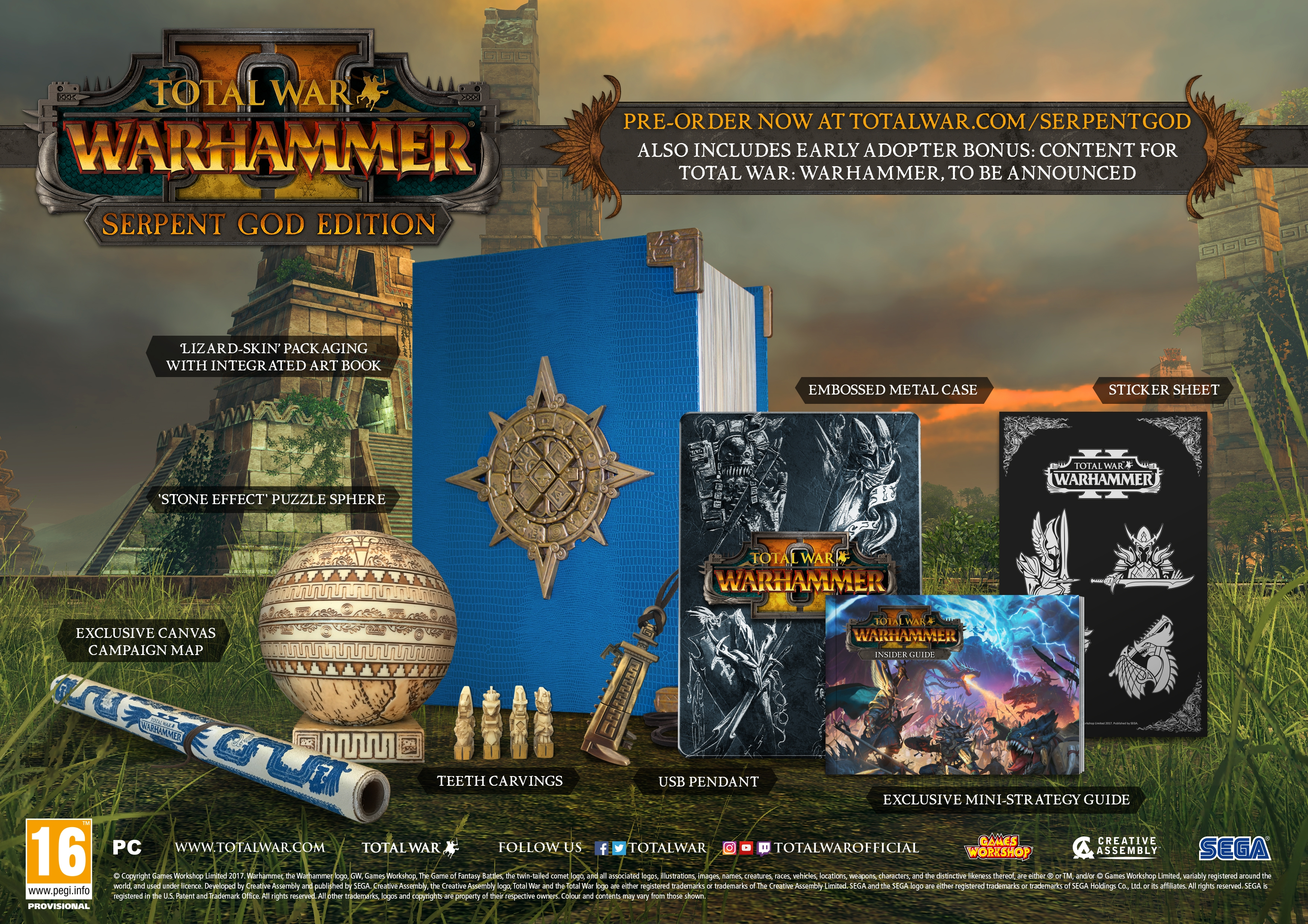 WARHAMMER II Release Date and Serpent God Edition Details